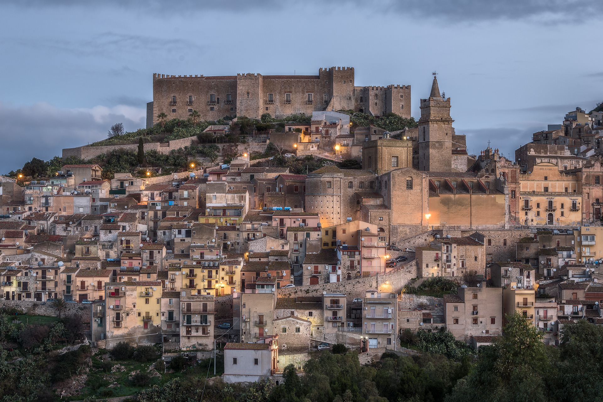 One morning in Caccamo...