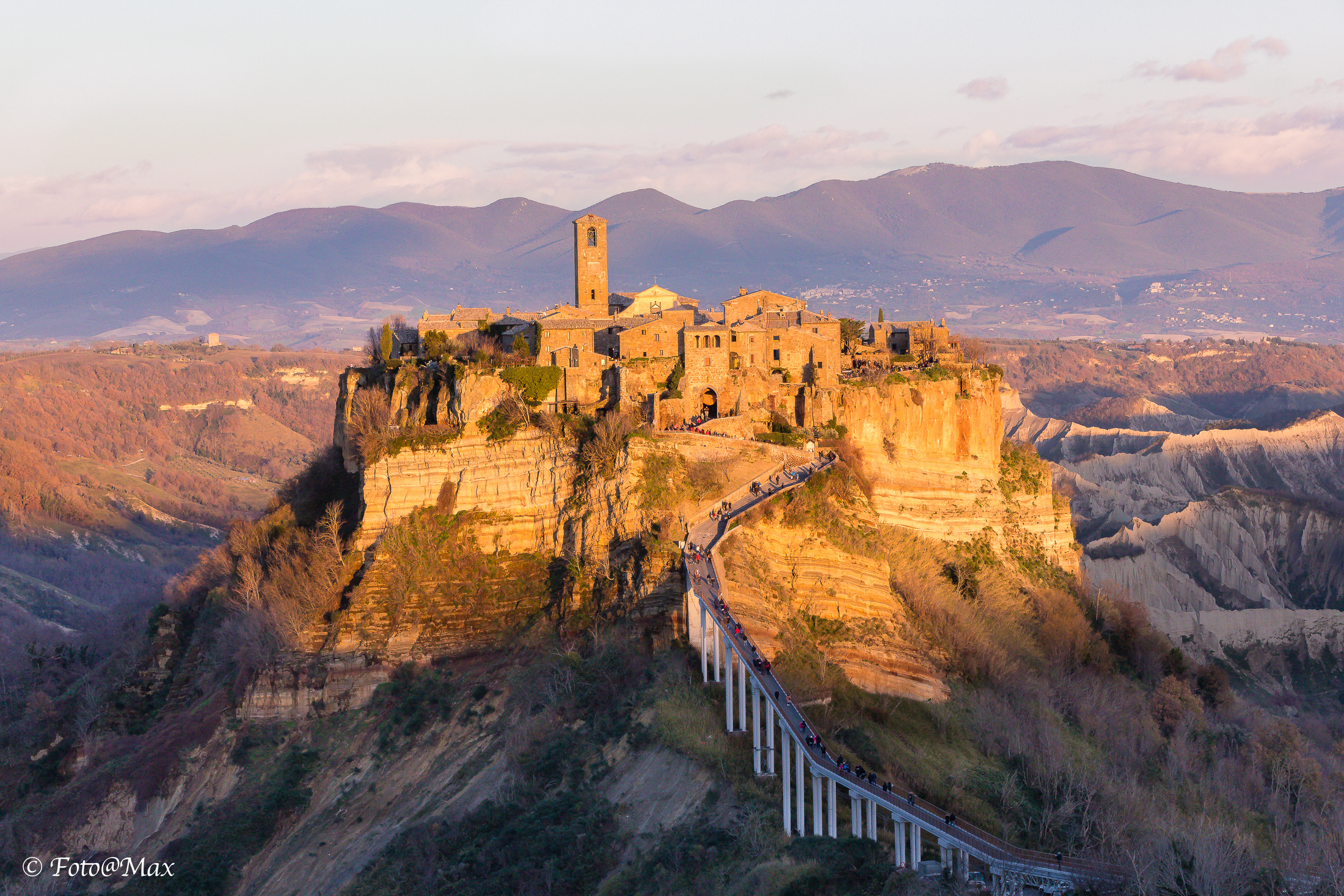 The Last Sun Kisses Civita, the City That Dies ...