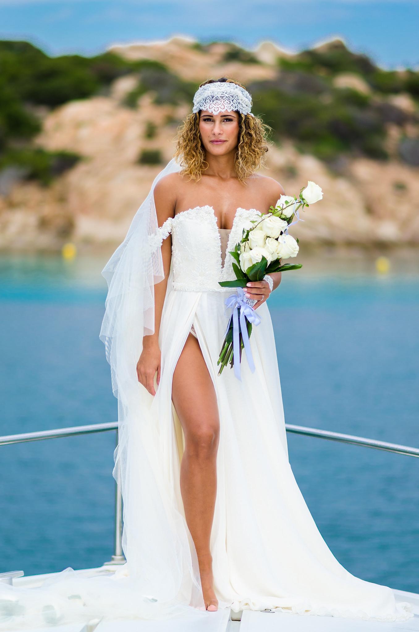 a splitting bride...