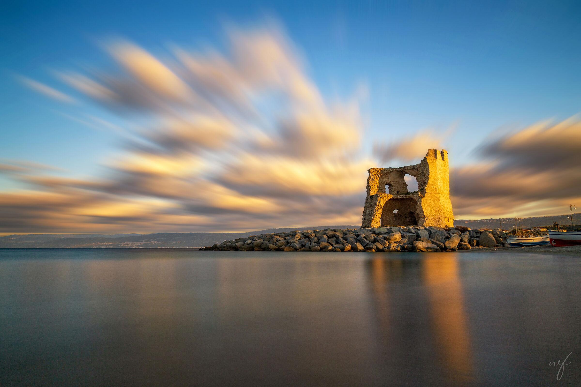 La torre dorata...