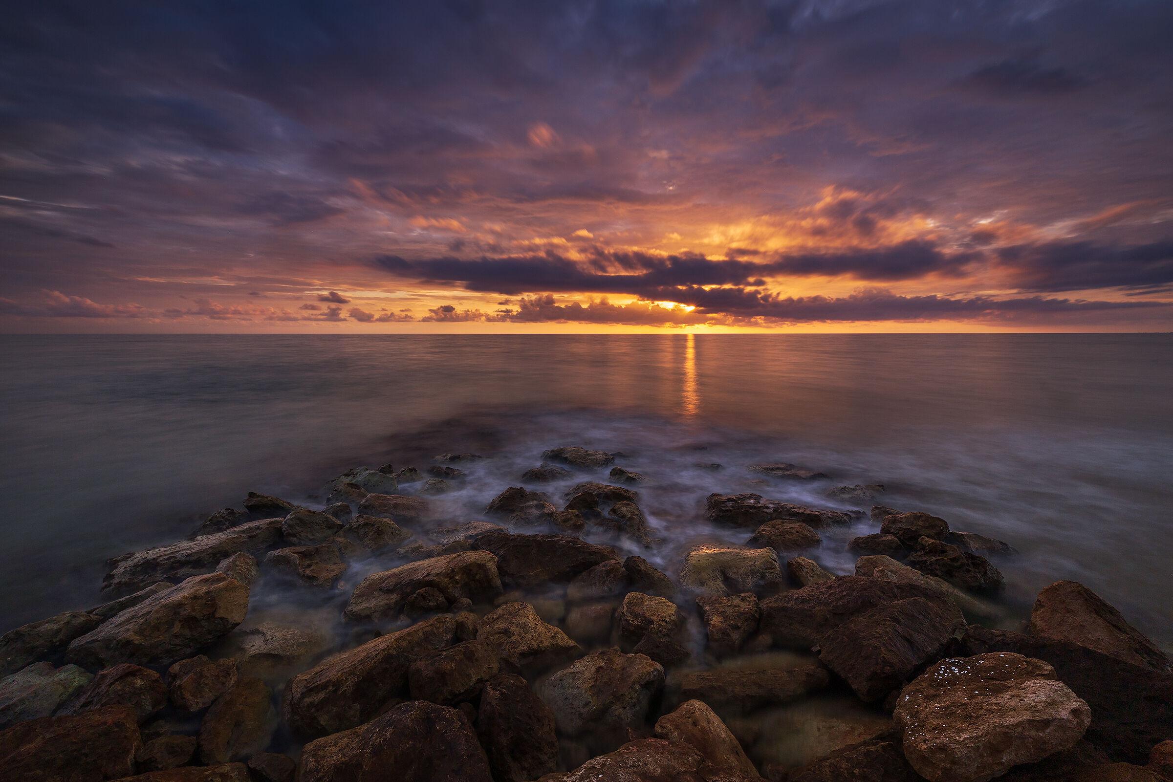 Un tramonto ritrovato...