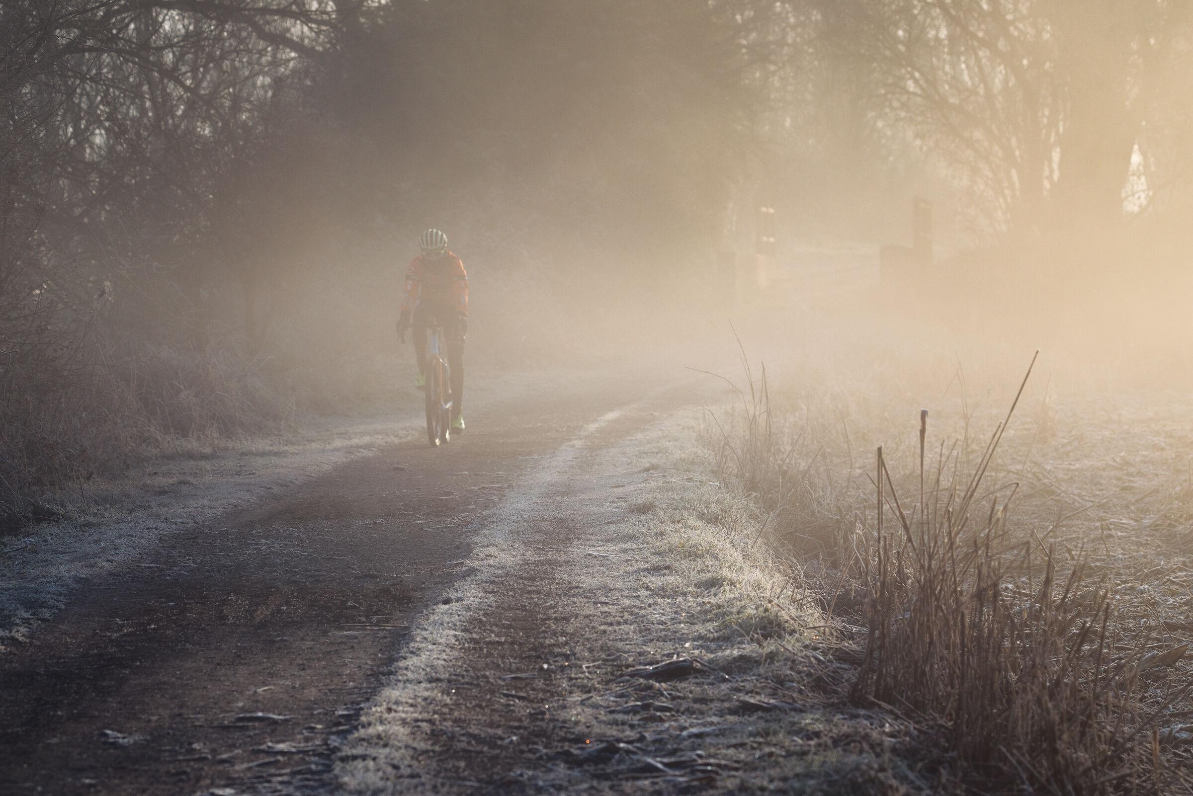 Cycling along the Adda...