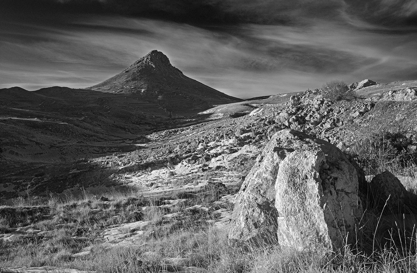 The pyramid of Mount Bolza...