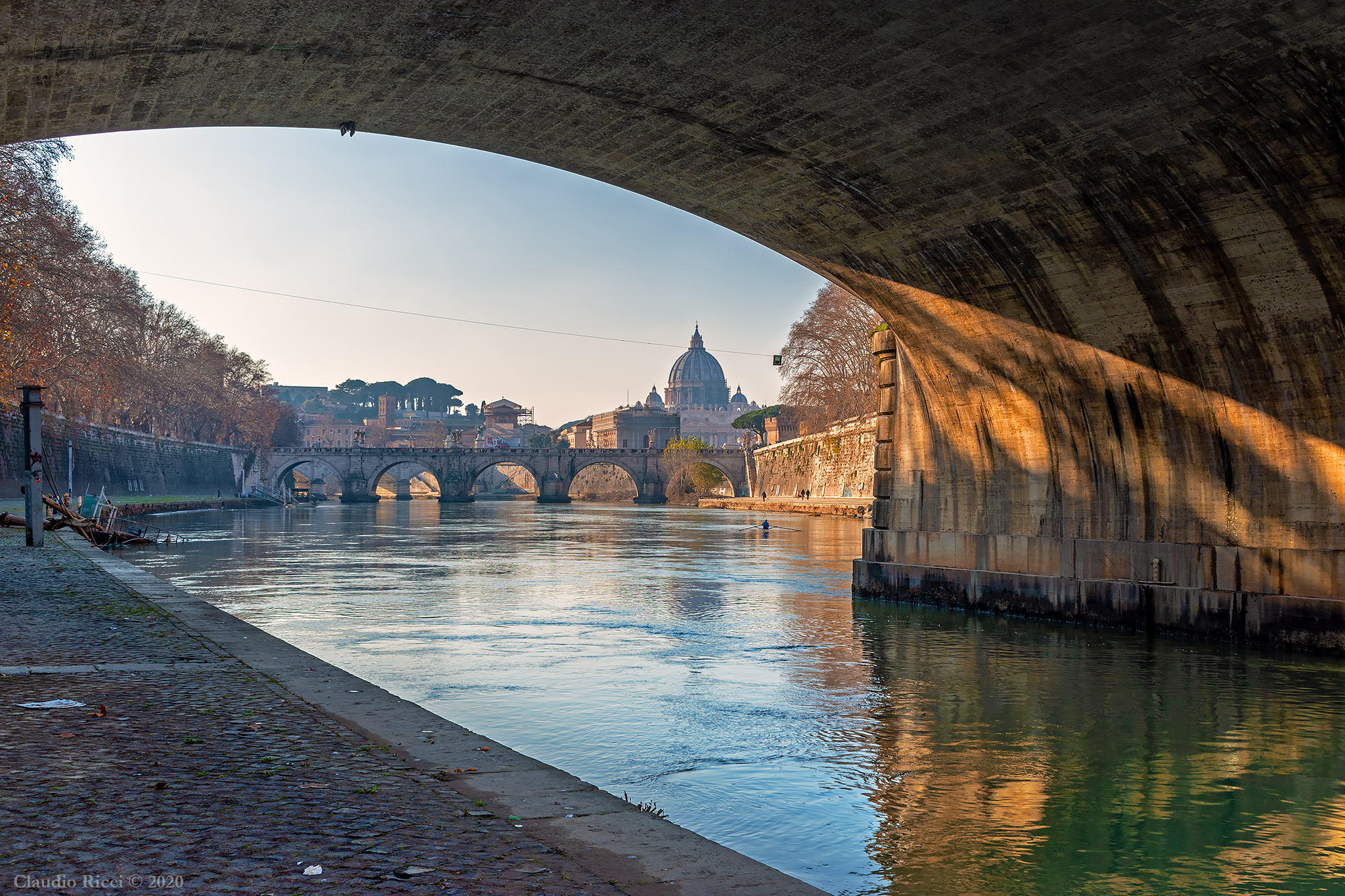 The Tales of the Tiber, Rome, 11 January 2020...