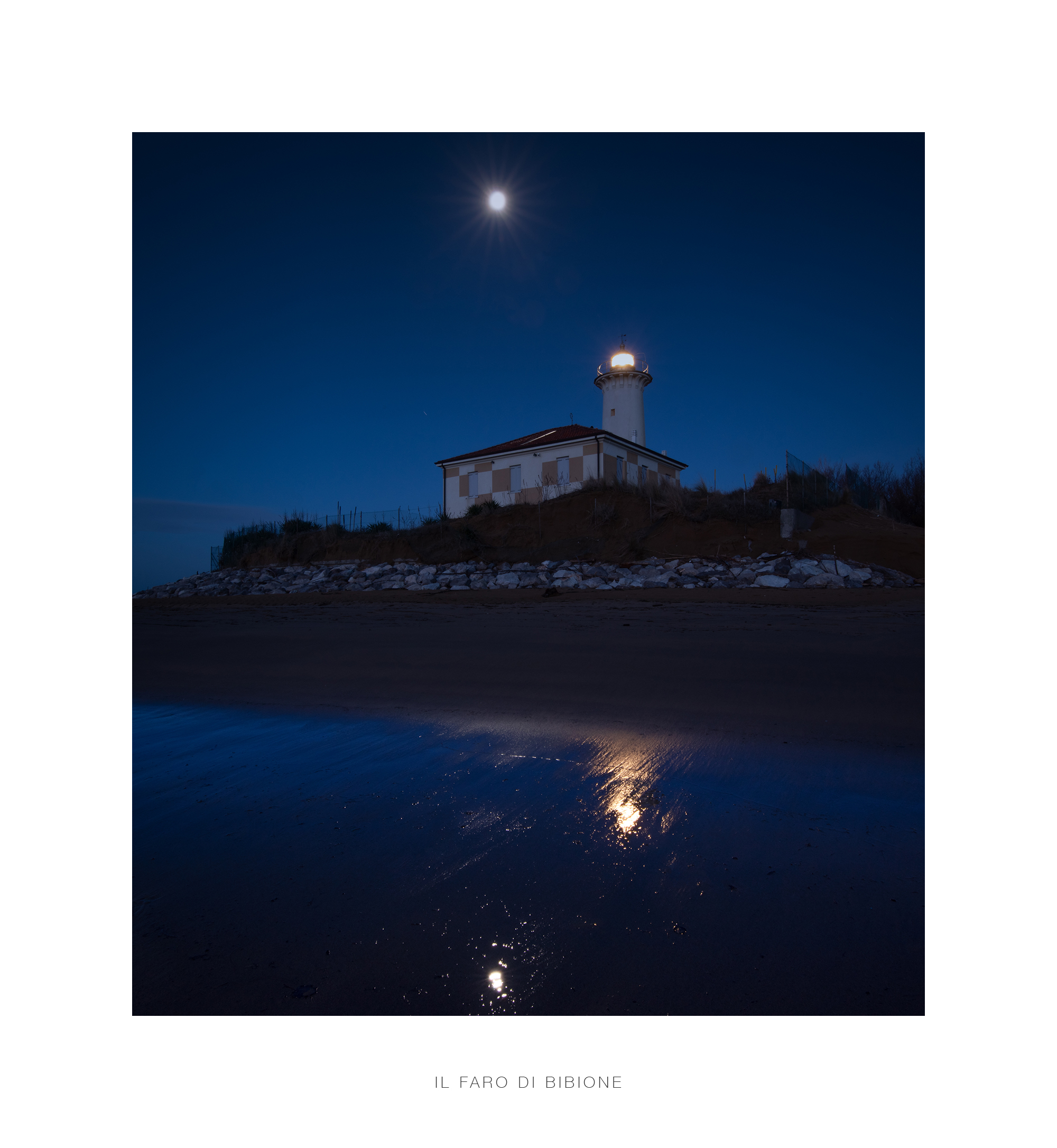 The Lighthouse of Bibione...