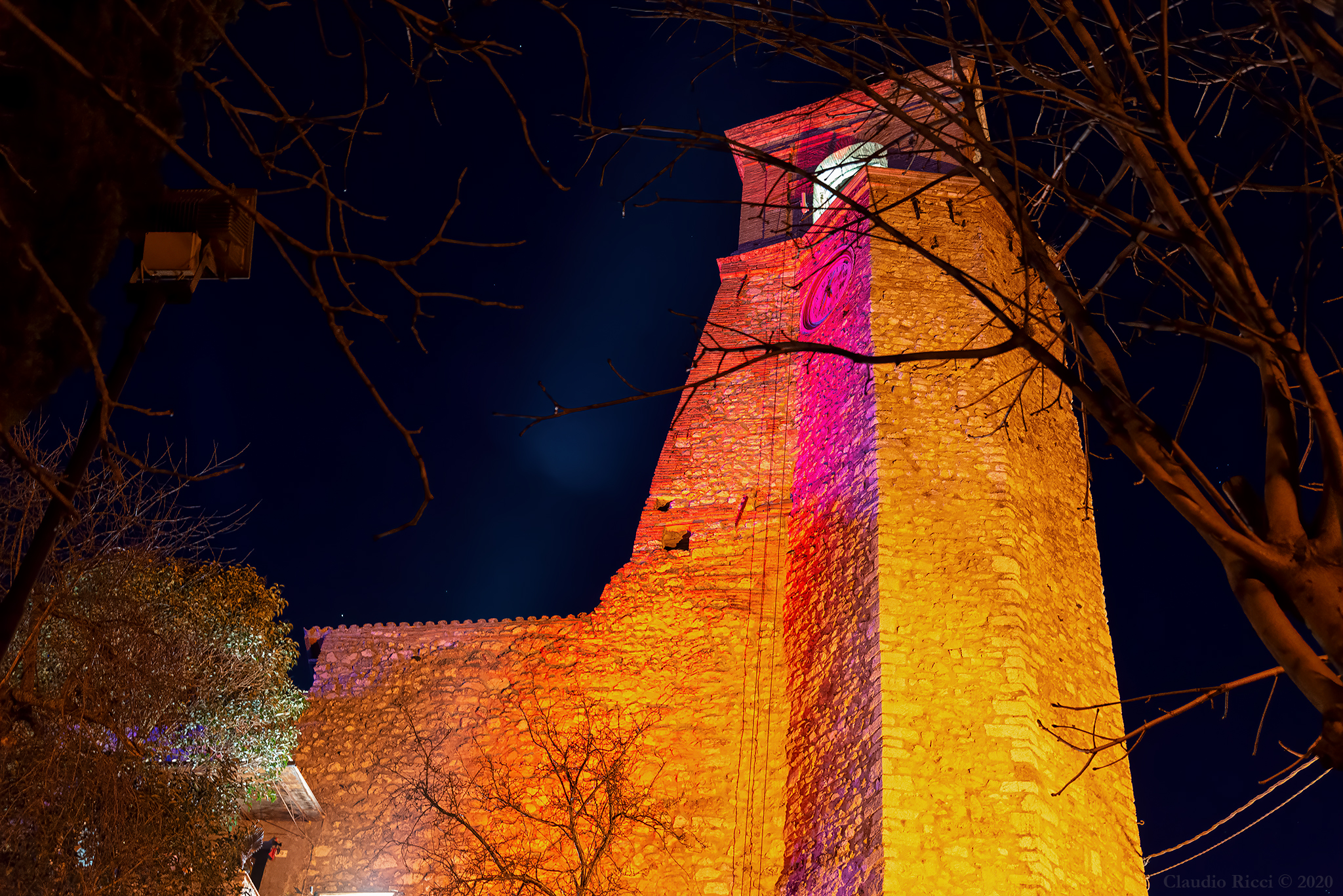 The Psychedelic Tower, Greccio (Ri), 5 January 2020...