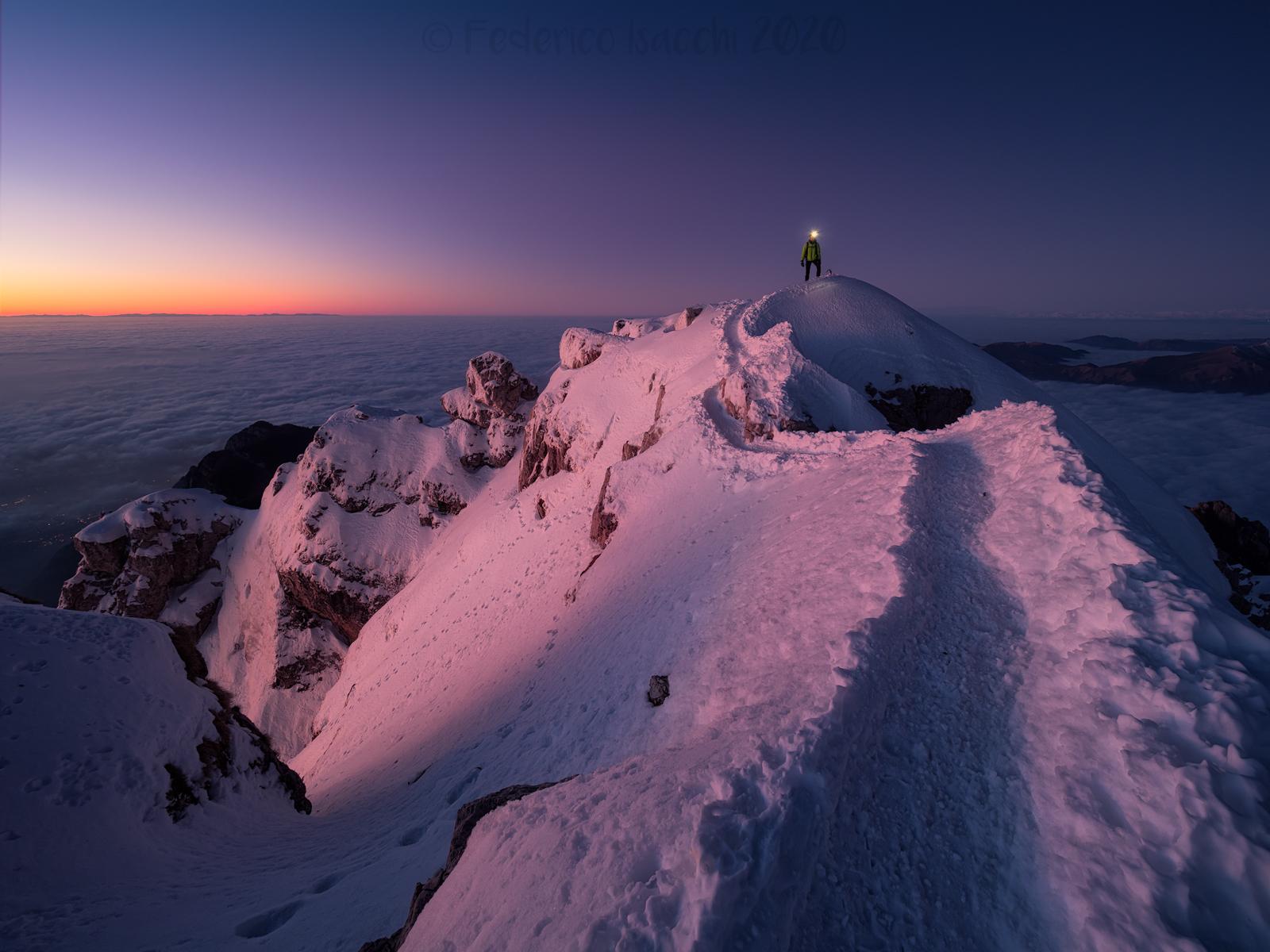 Sunrise at altitude...