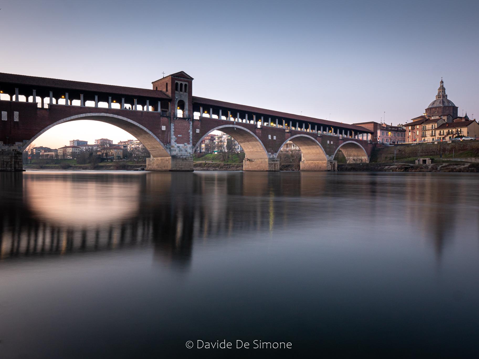Pavia ponte coperto...