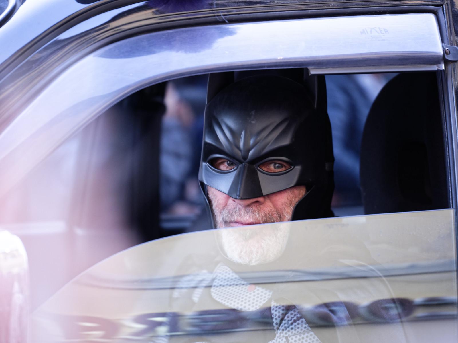 Batman really exists!...