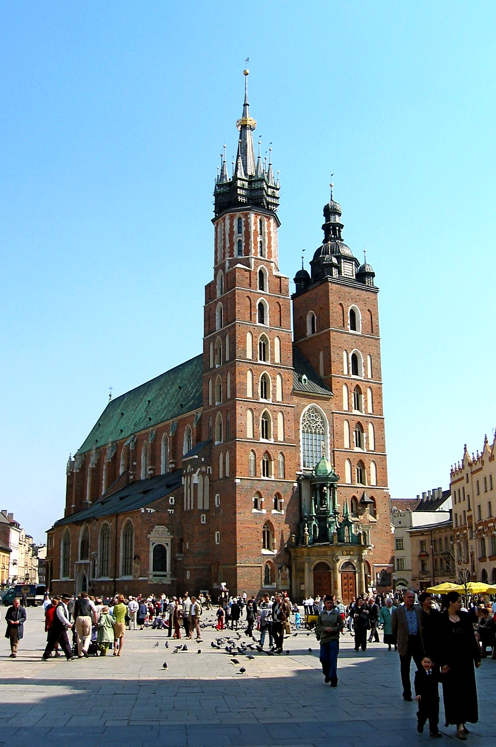 St. Mary's Church, Krakow...