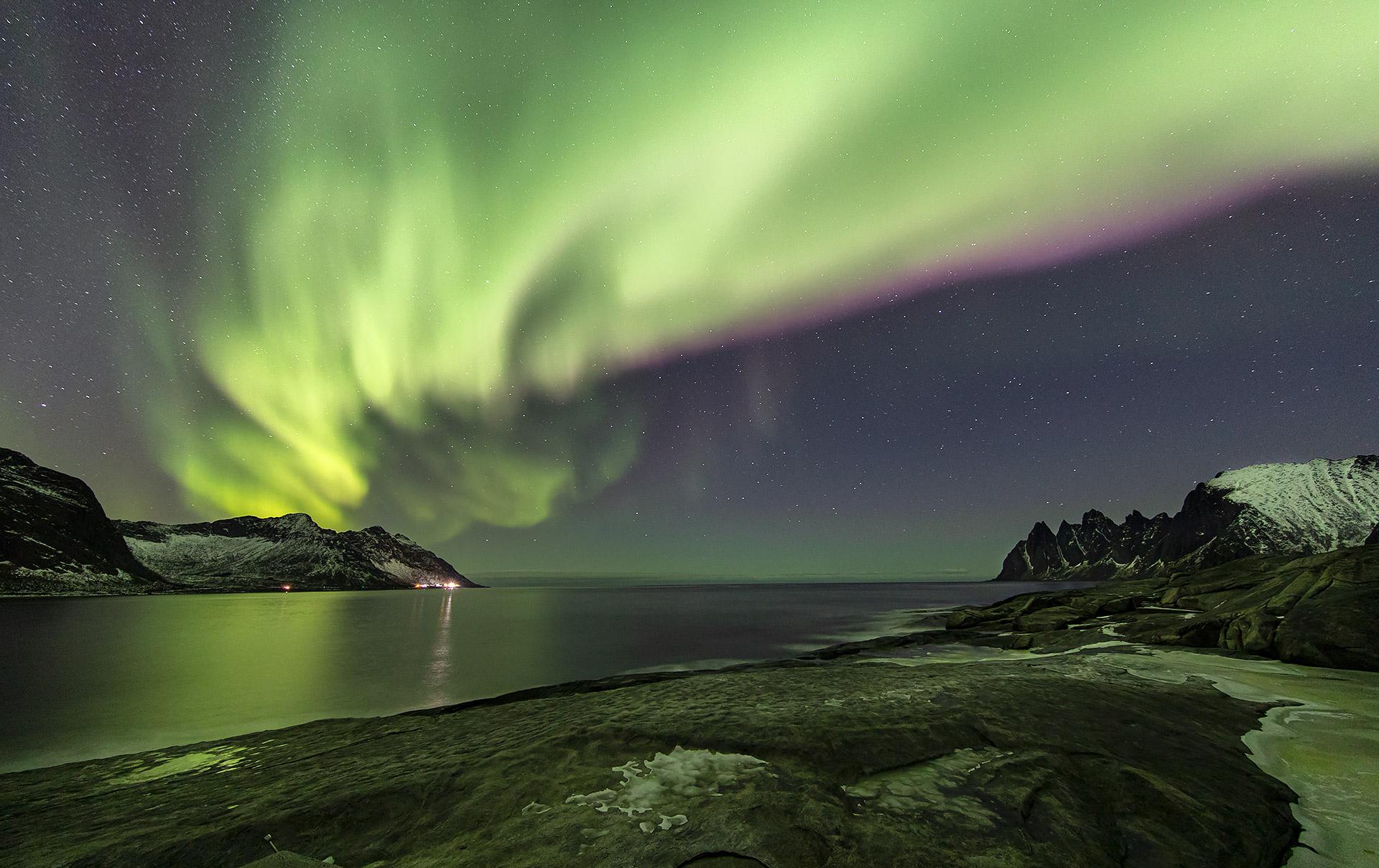 Aurora Boreale a Senja...