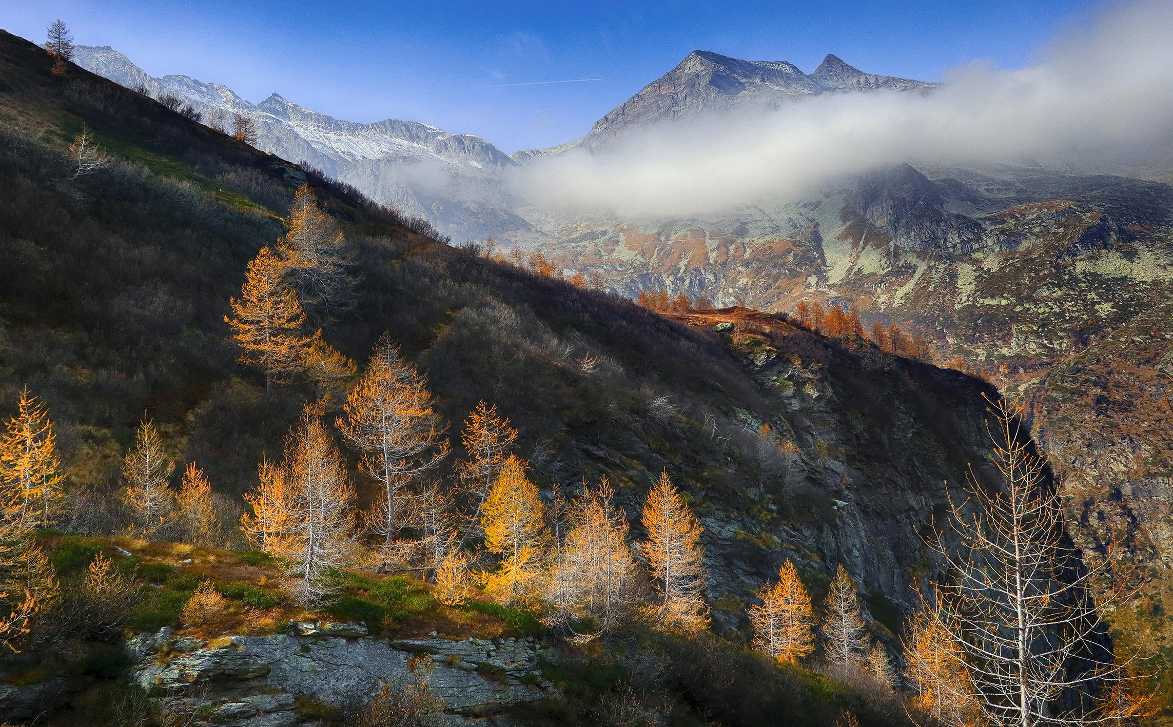 autumn in Val Troncone ...