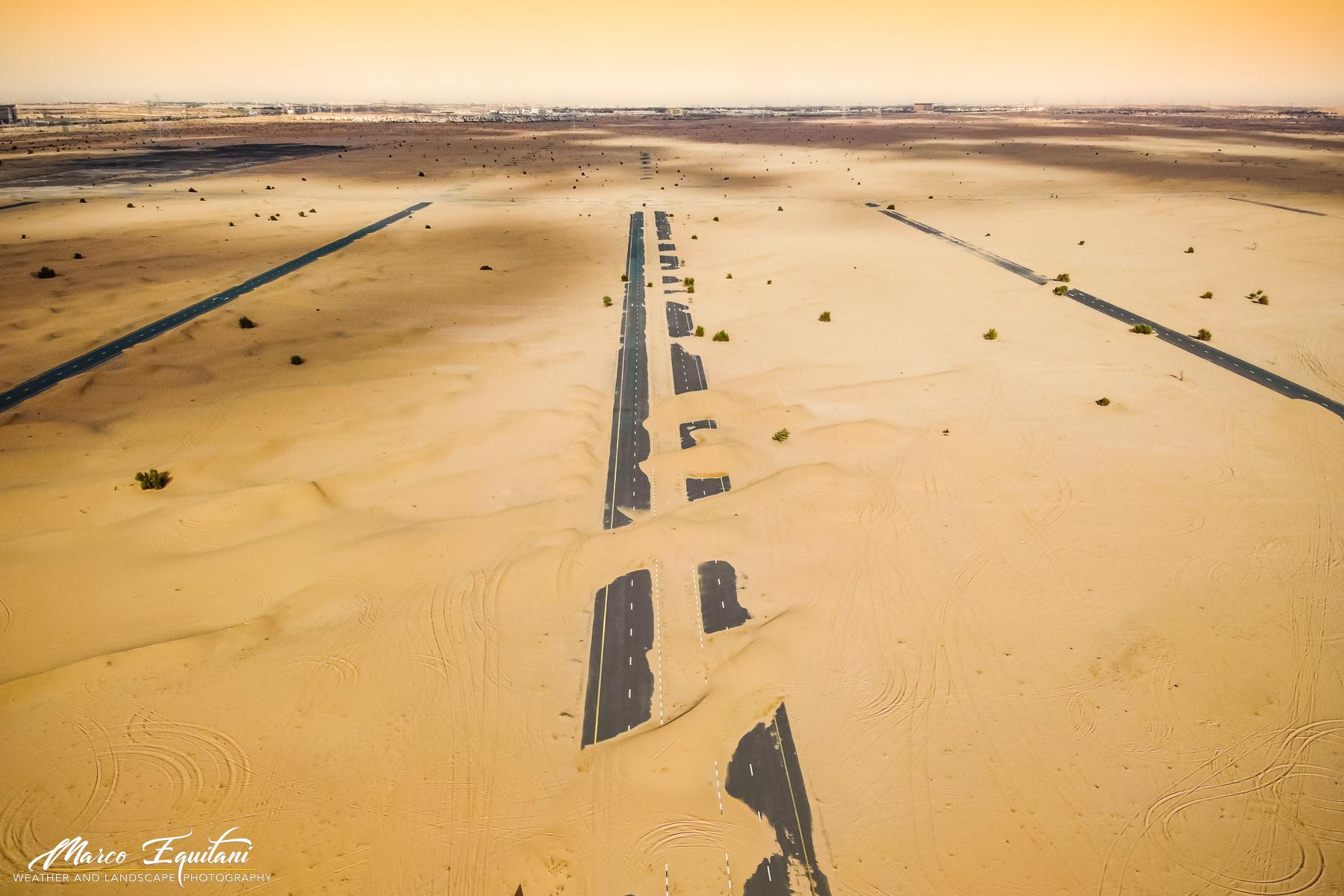 Desert roads...