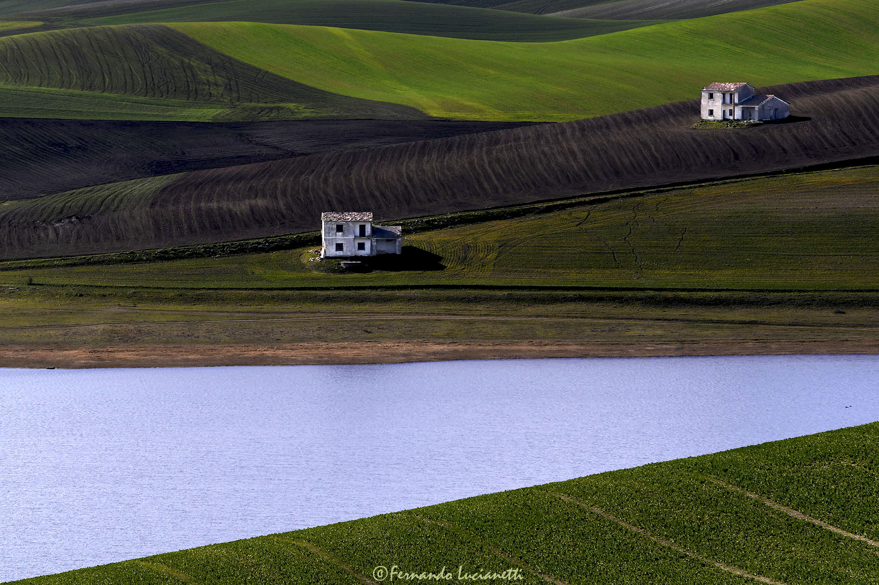 Houses on the lake...