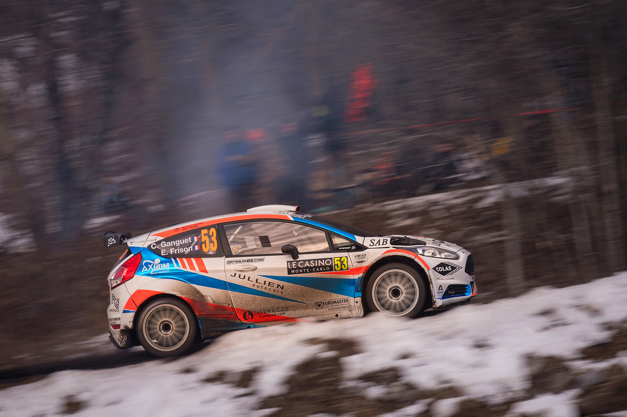 WRC Rallye de Monte Carlo 2020 - Ganguet/Frison...