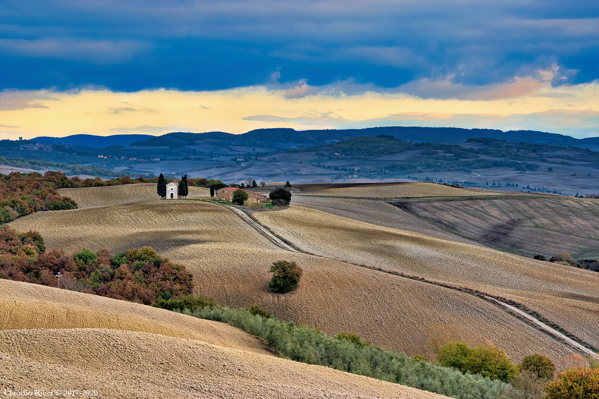 Val d'Orcia and Vitaleta (Yes)...