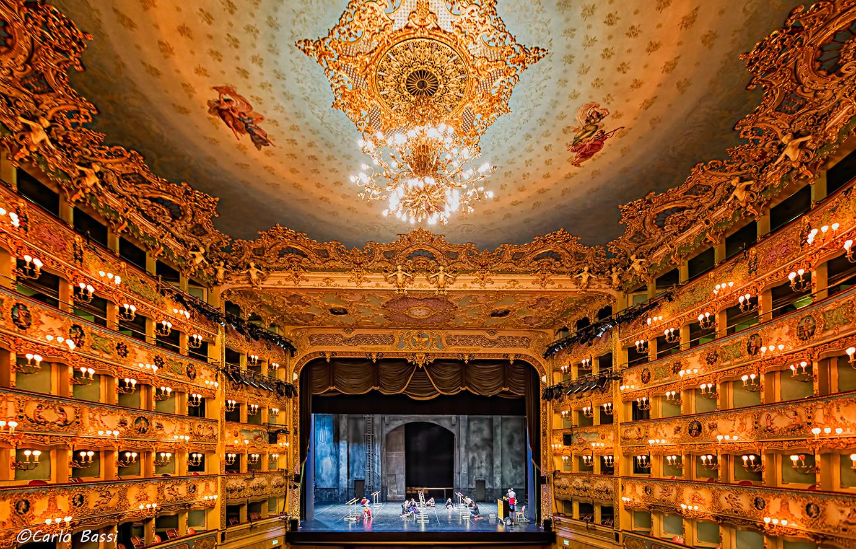 The Gran Teatro La Fenice, Venice...