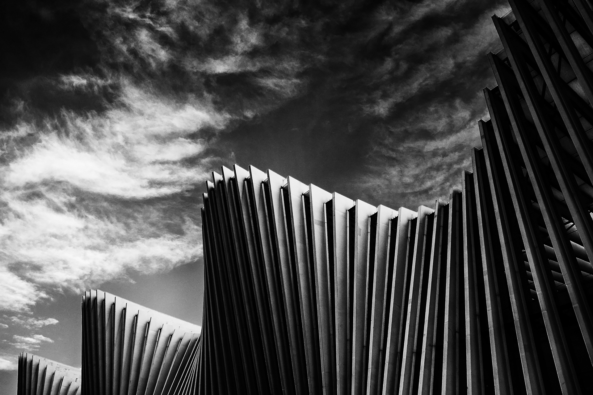 Calatrava waves...