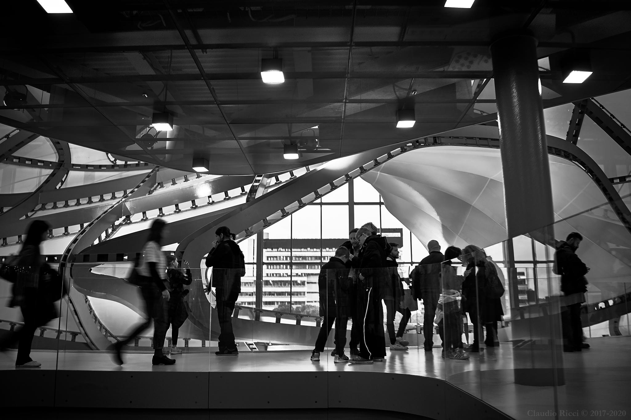 "Rome Convention Center aka ""Cloud of Fuksas""..."