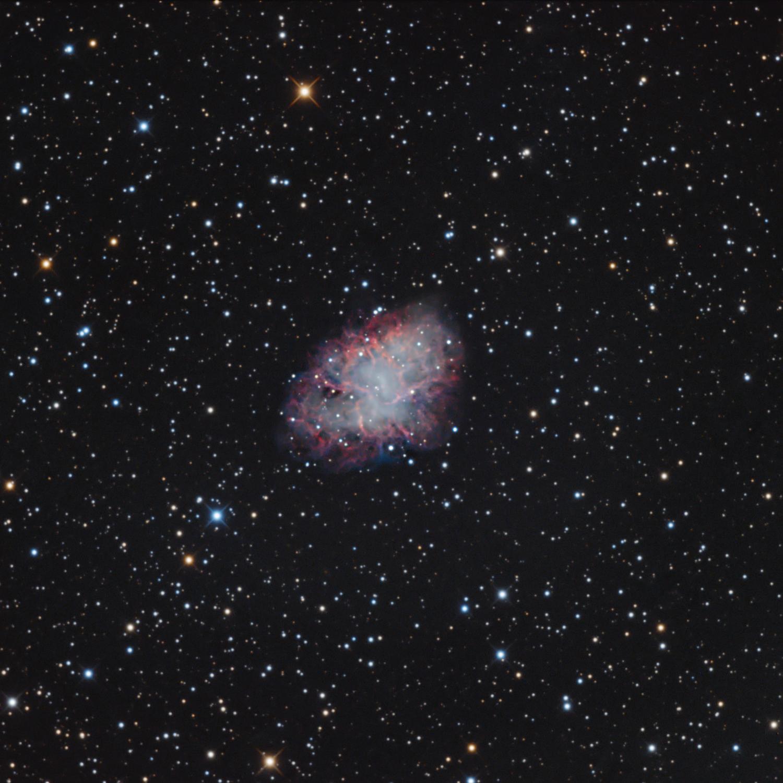 M1 Crab Nebula...