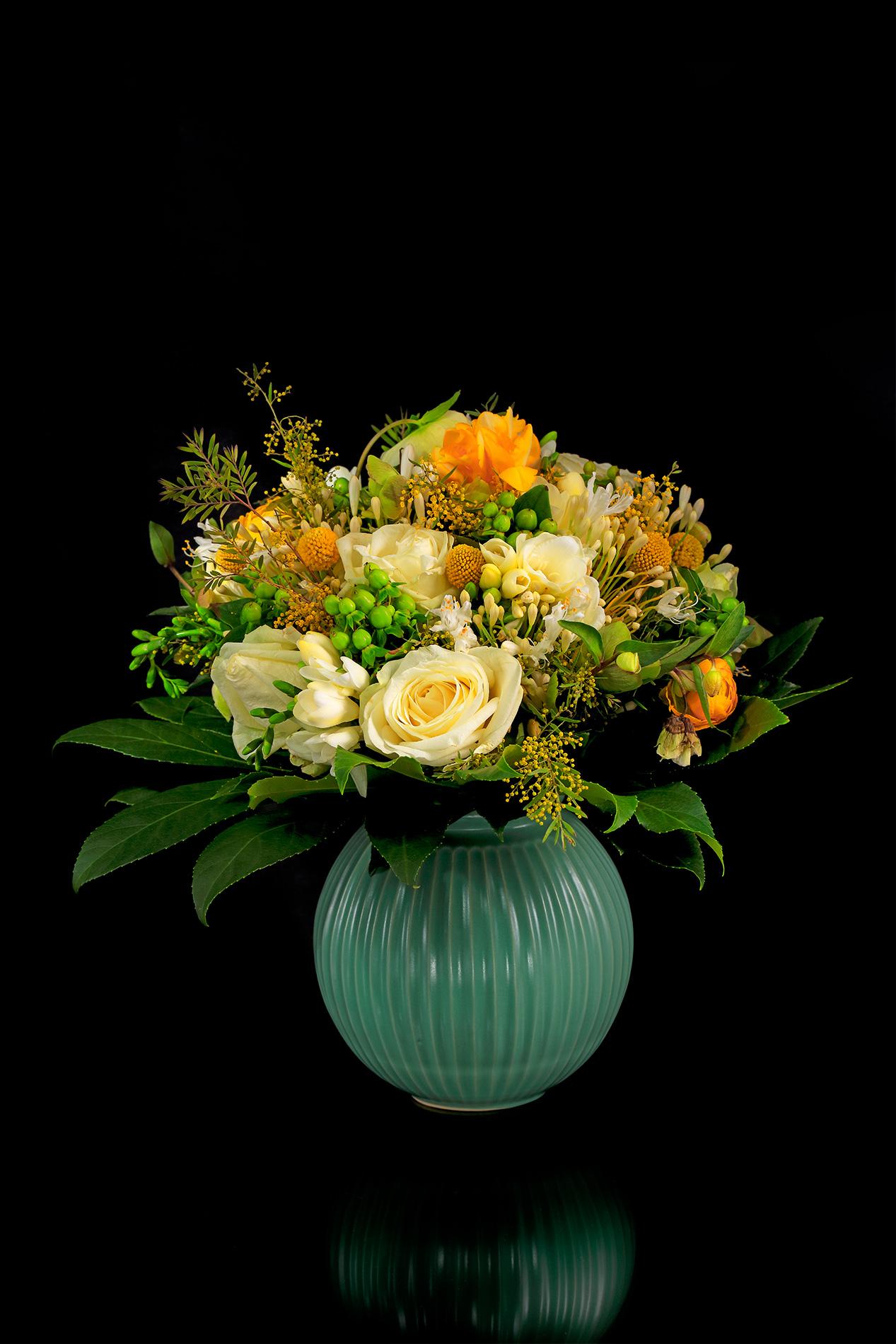 Composizione floreale danese...