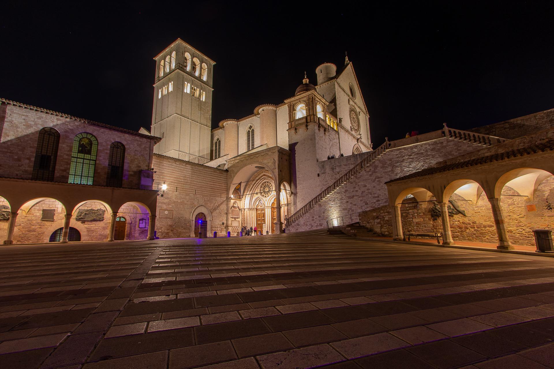 St. Francis Basilica...