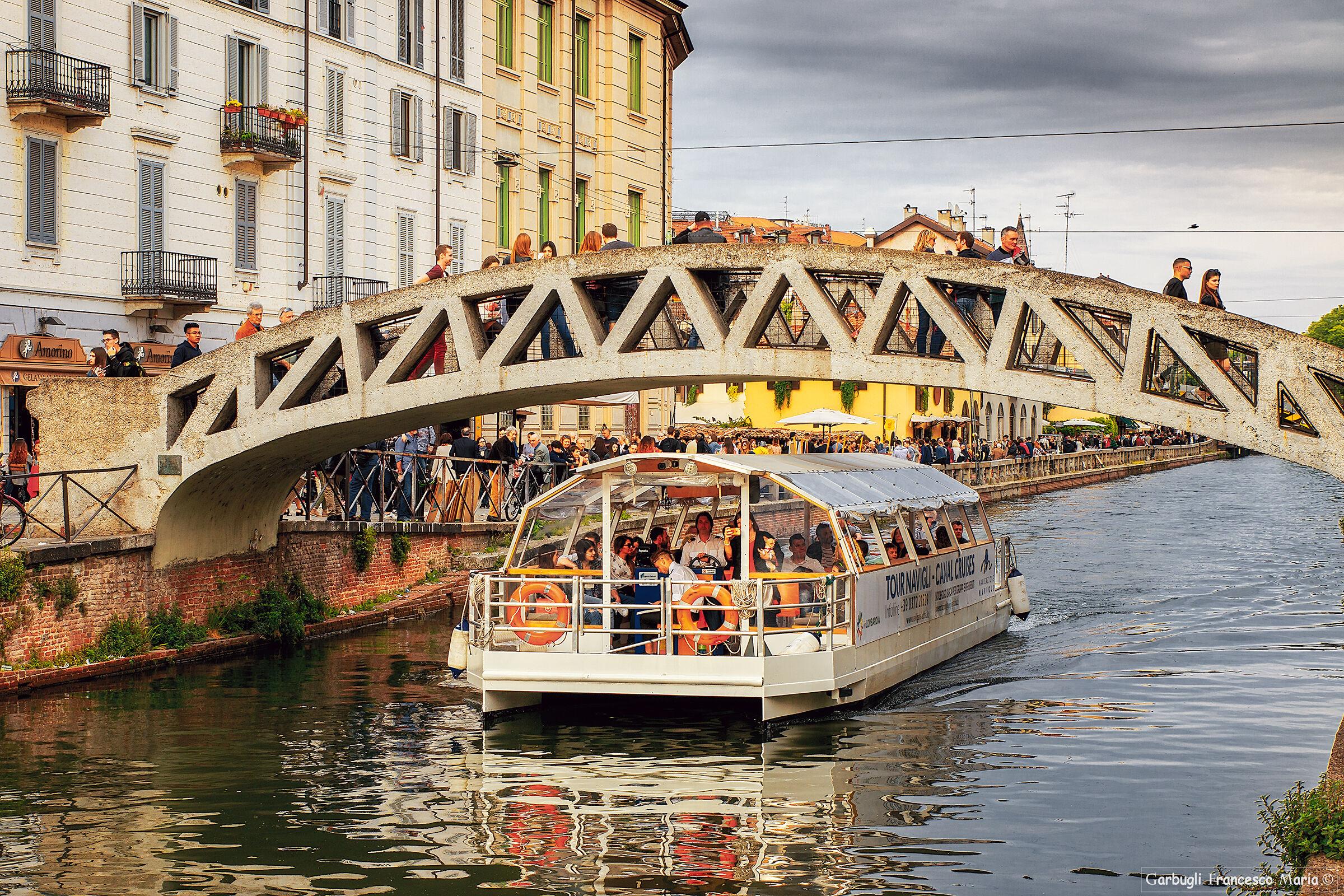 The Bridge of the Naviglio...