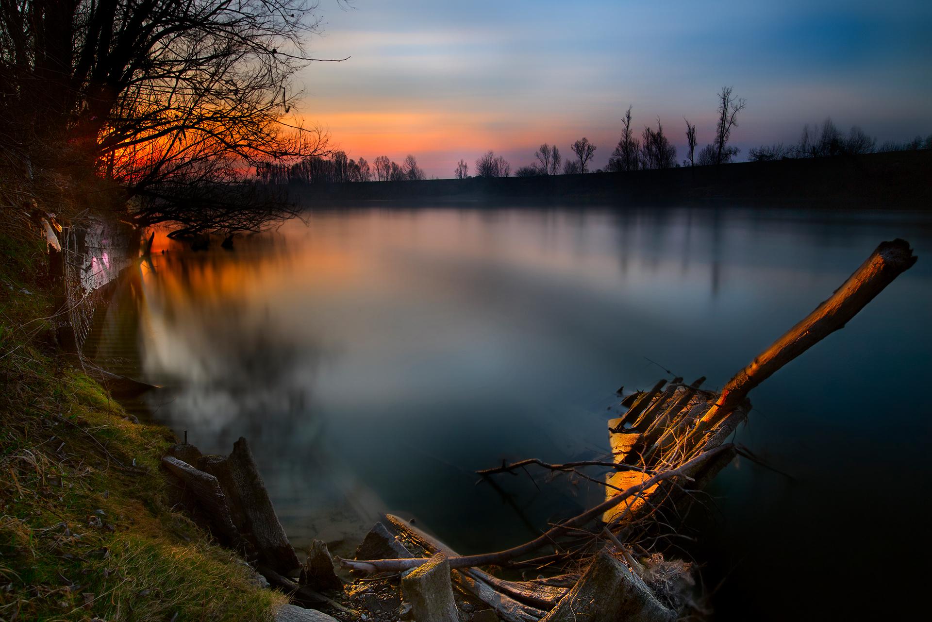 Sunrise on the river...