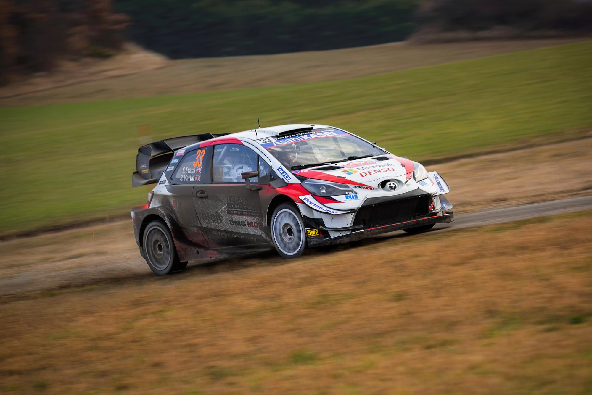 WRC Rallye de Monte carlo 2020 - Evans/Martin...
