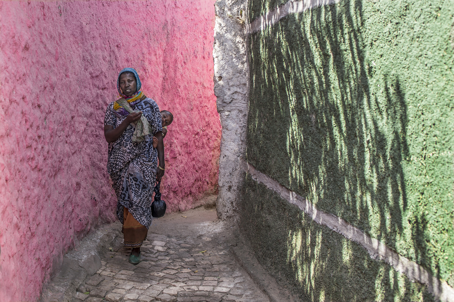 In the alleys of Harar...