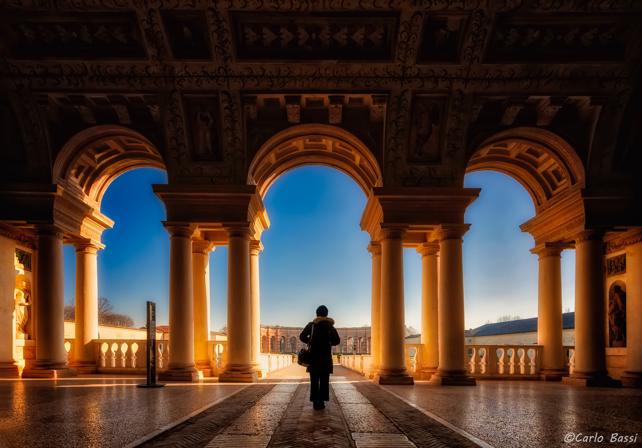 Italy looks to the future (Mantova Palazzo Te)...