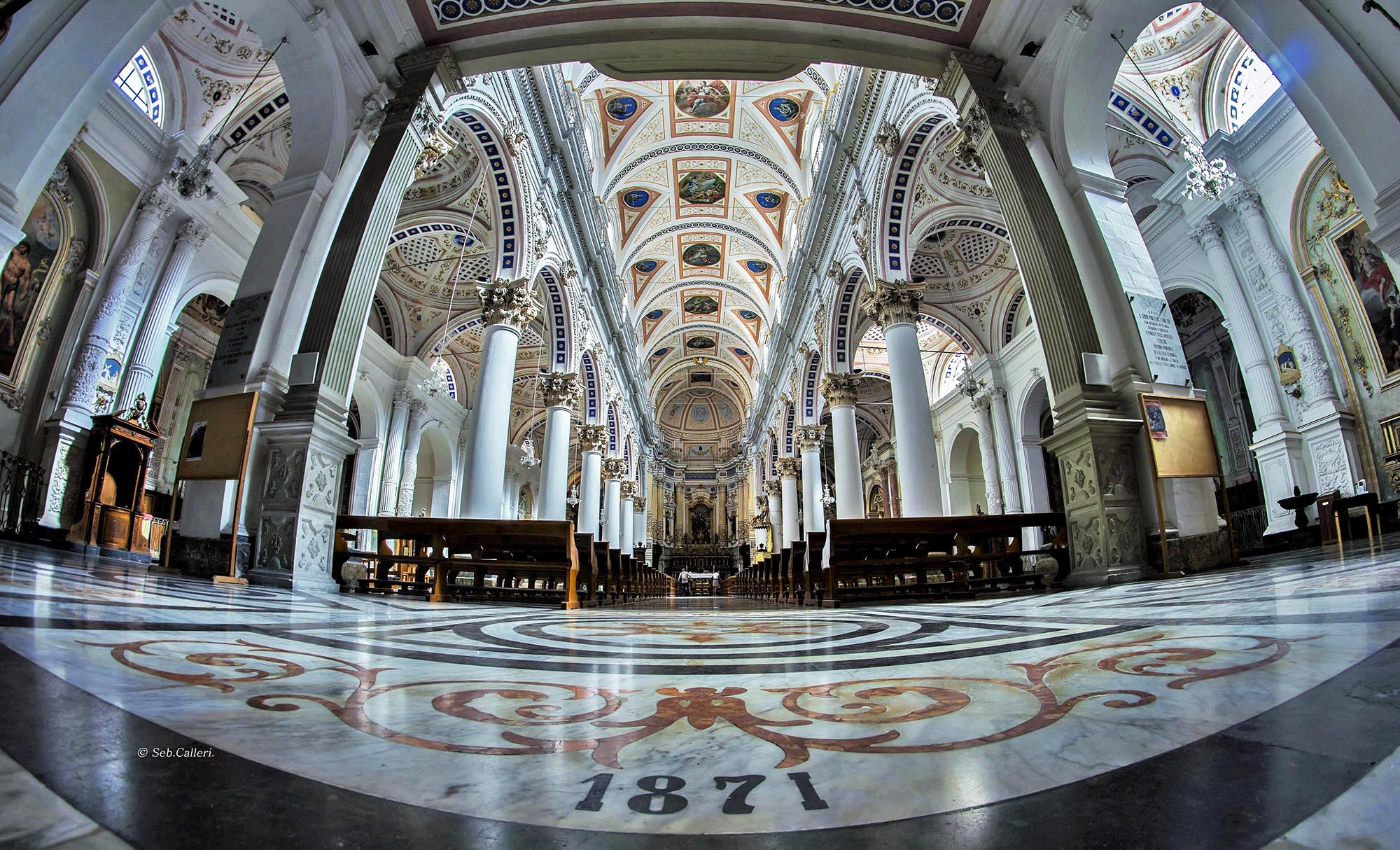 Modica:St. Peter's Cathedral...