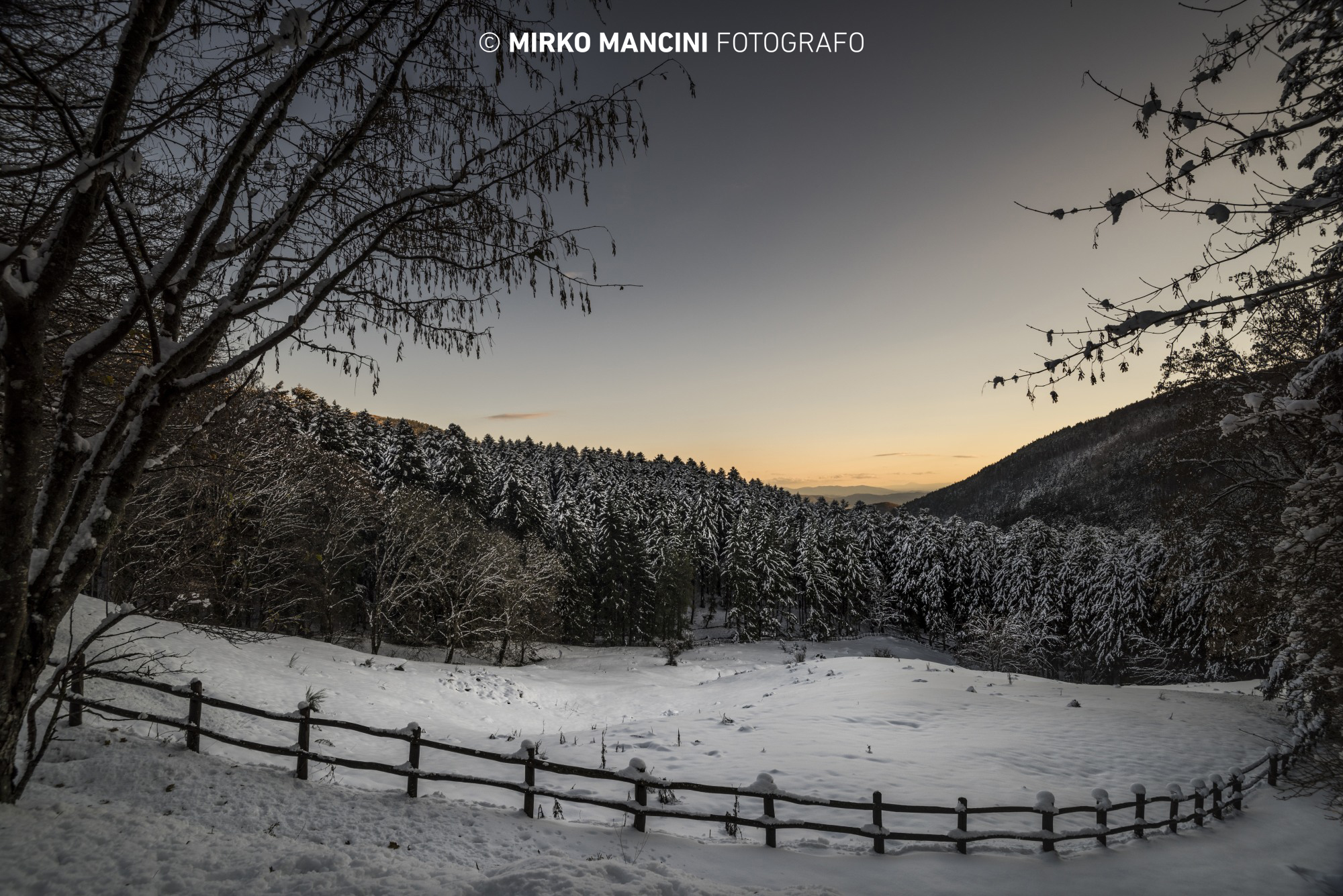 L'inverno a Camaldoli....