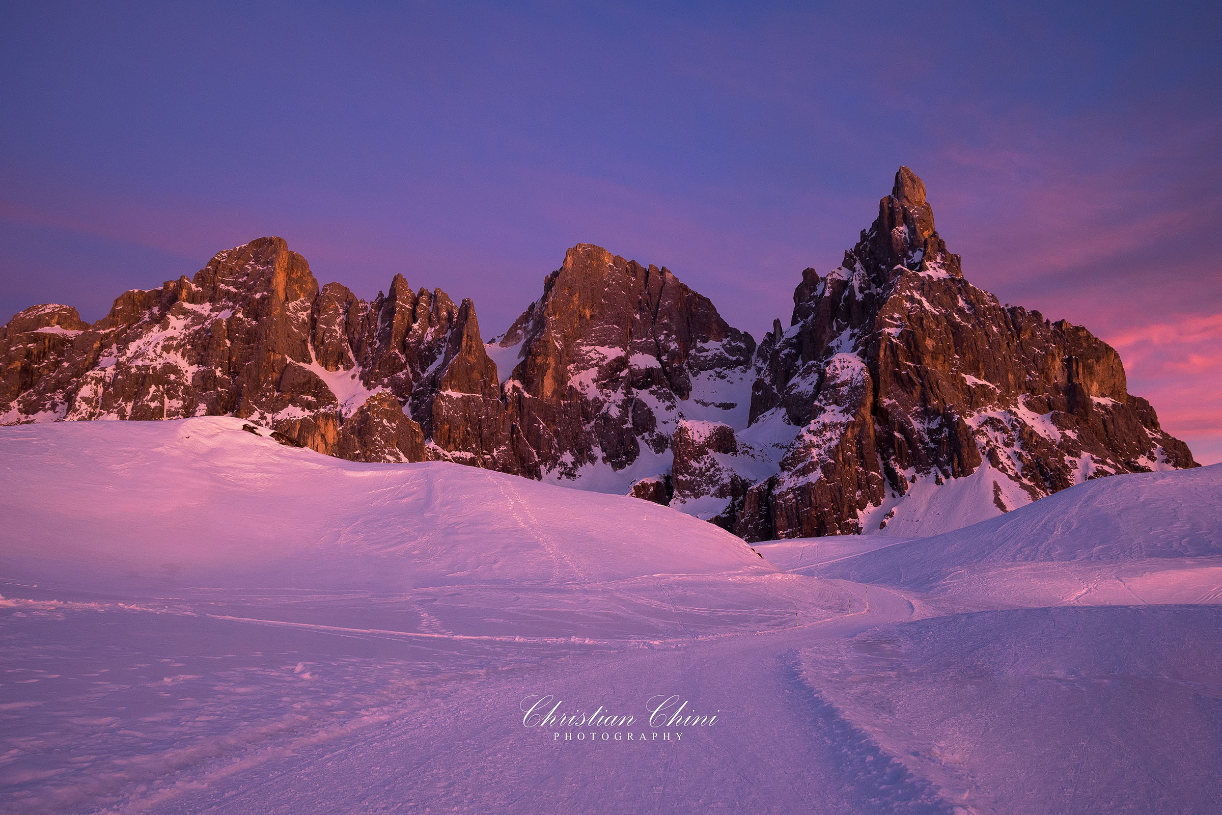 Twilight at Rolle Pass...