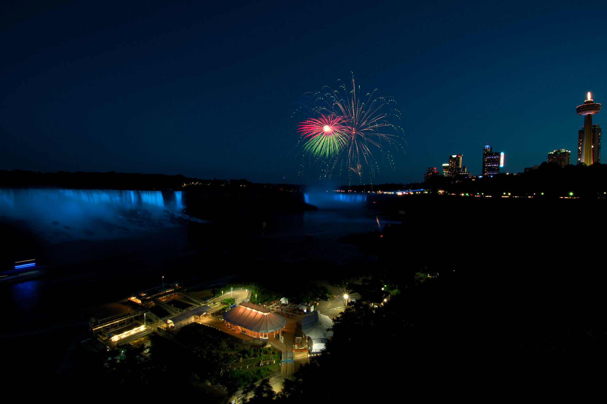 Niagara Falls and Fireworks...