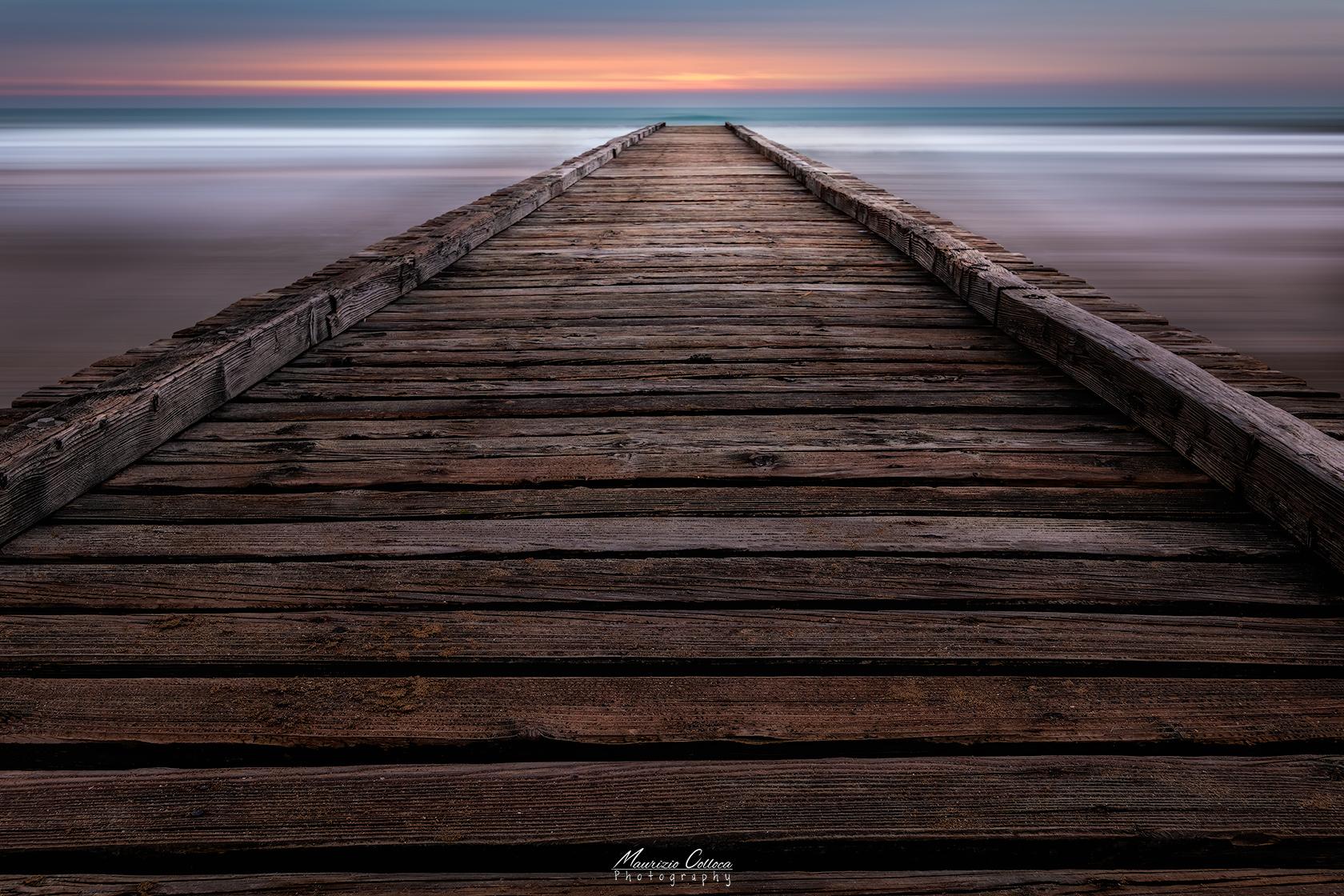 Escape toward sunrise...