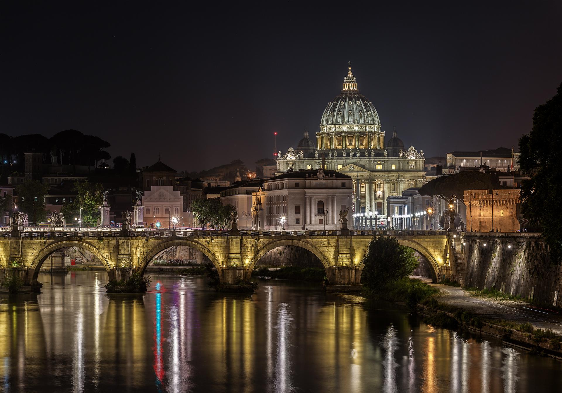 Rome at night...