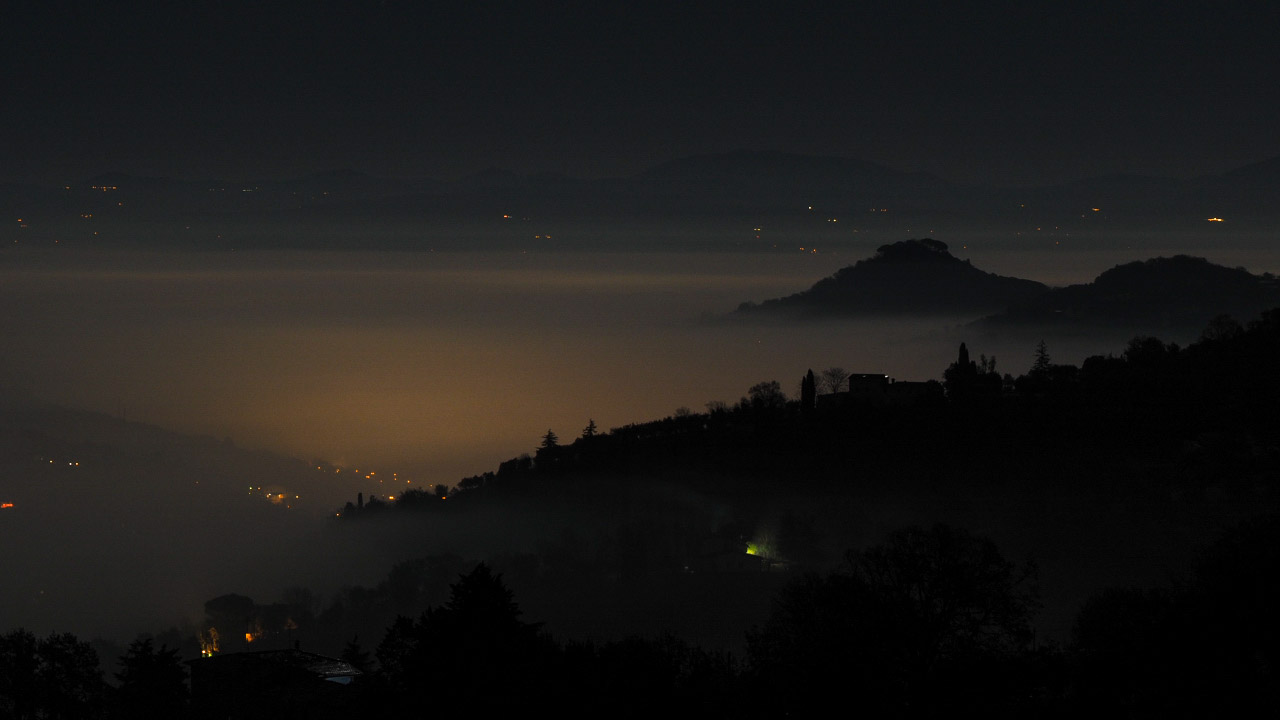 when the mist of the night lies in the valley...
