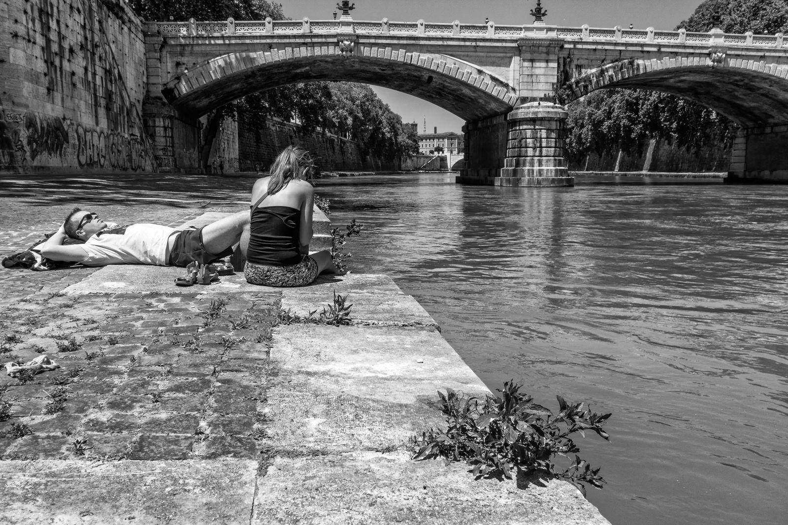 Quiet flows the river...