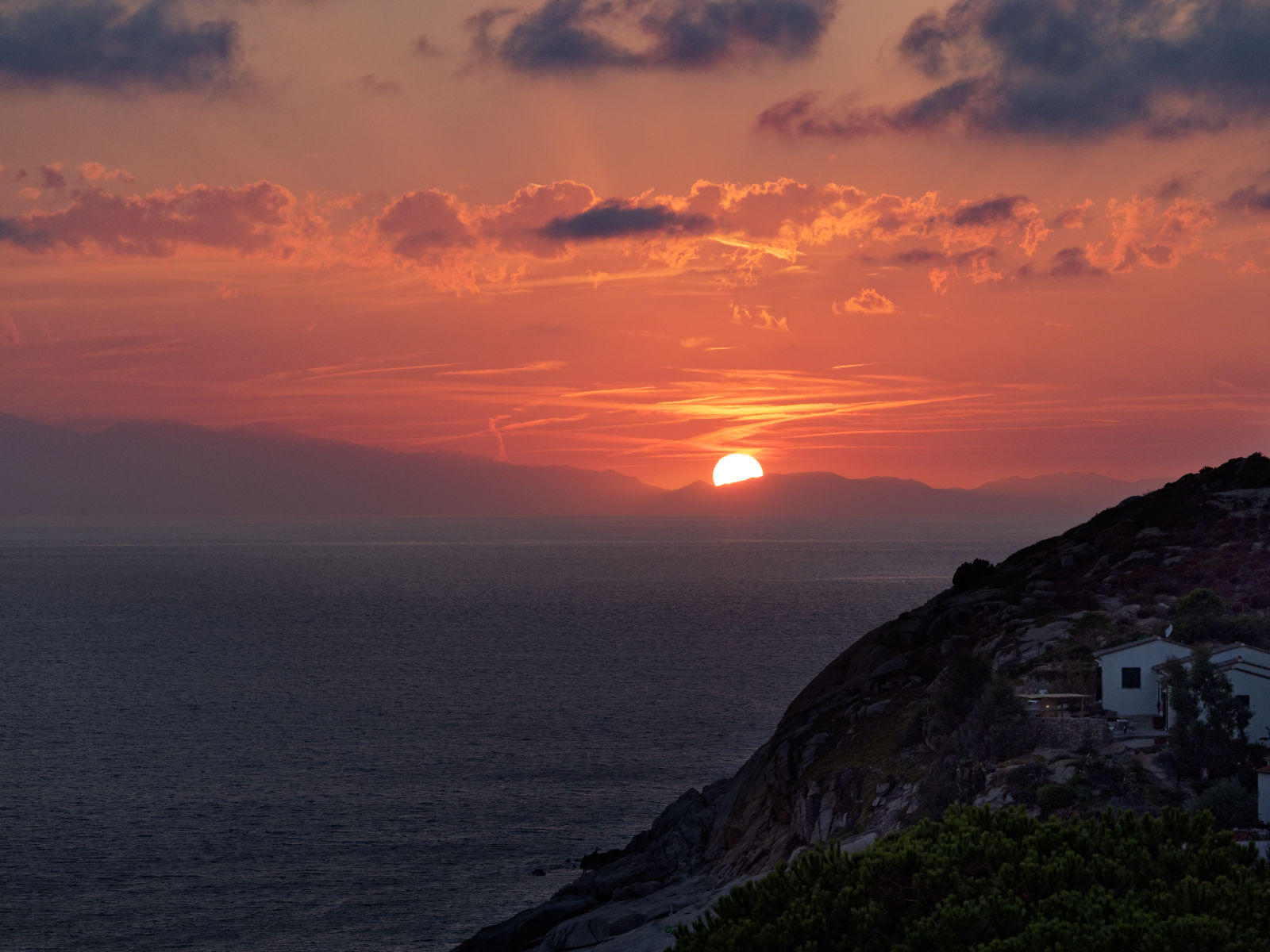 Sunset over Chiessi...