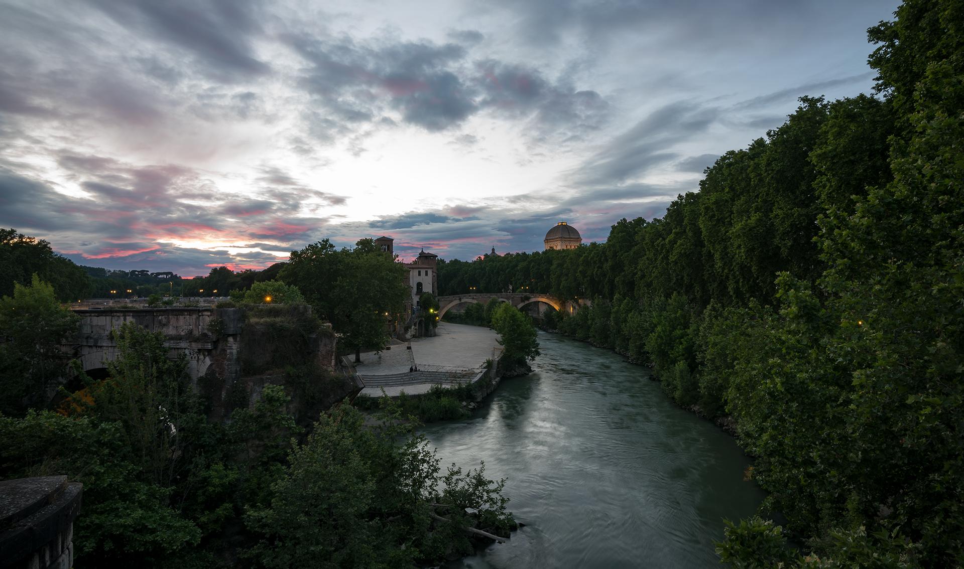 View of Ponte Emilio...