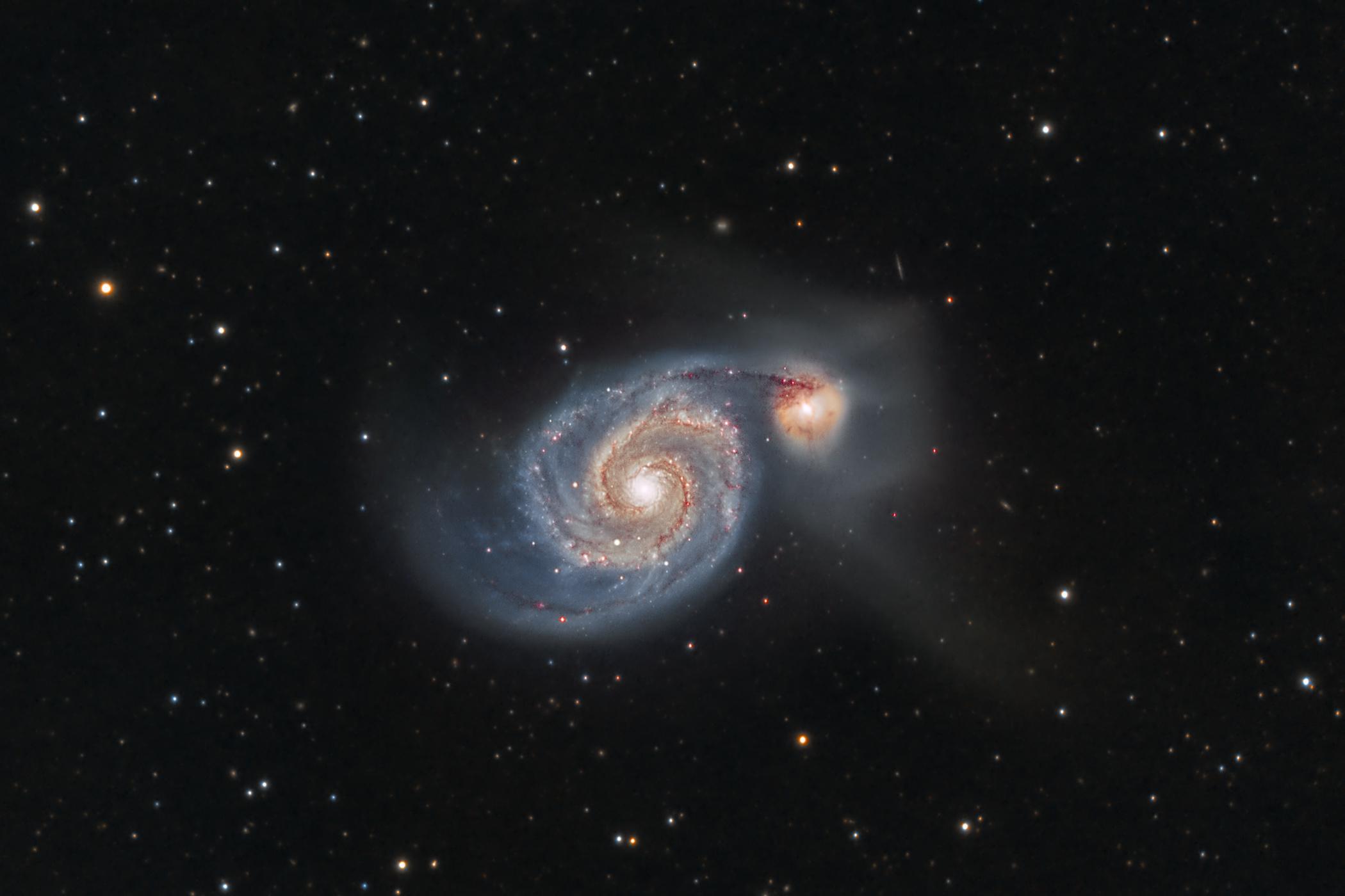 Vortex Galaxy M51...
