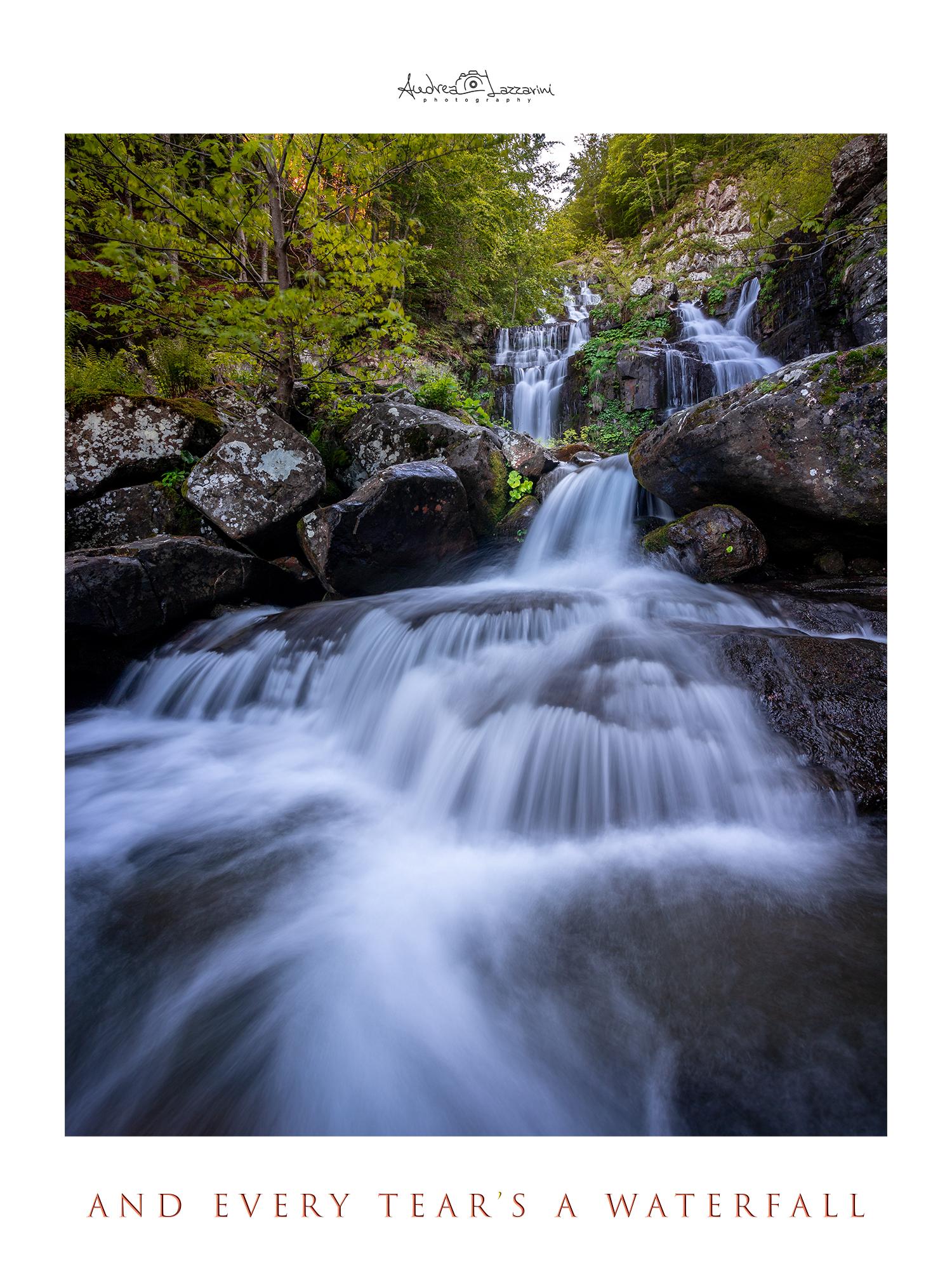 Every Teardrop is a waterfall ...