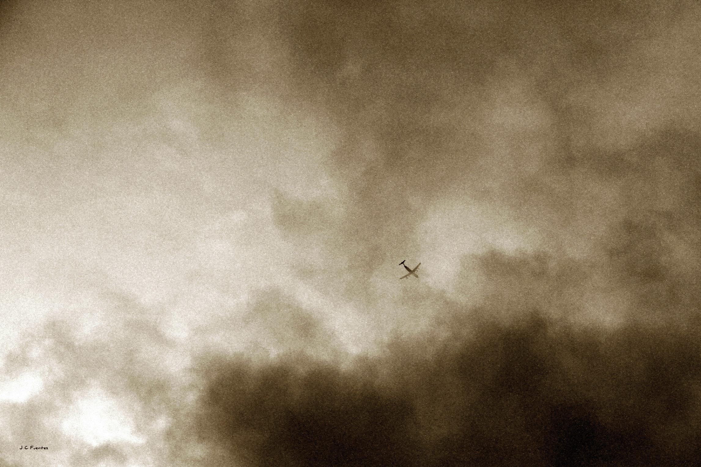 Sobre las nubes...