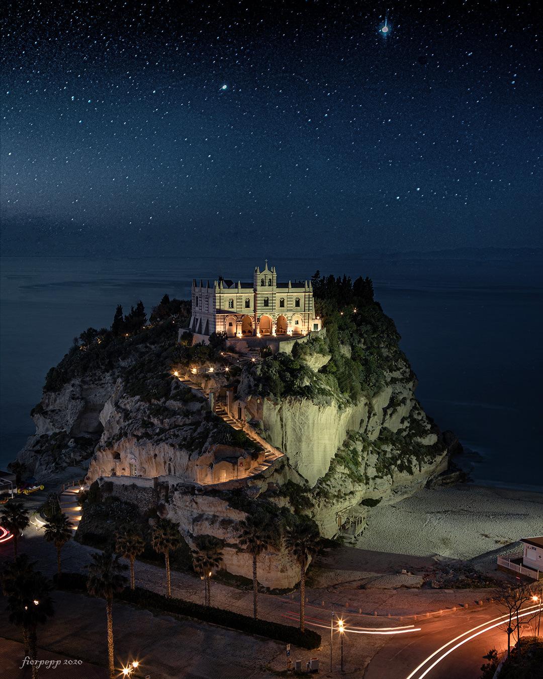 Santa Maria of the Island... Tropea...