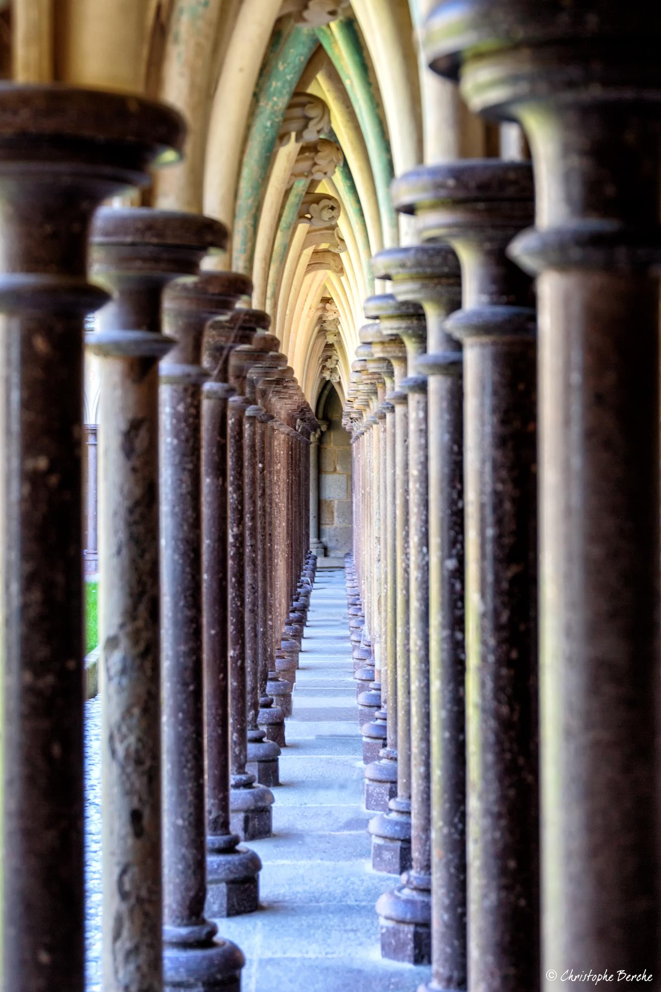 Mont St Michel Abbey...
