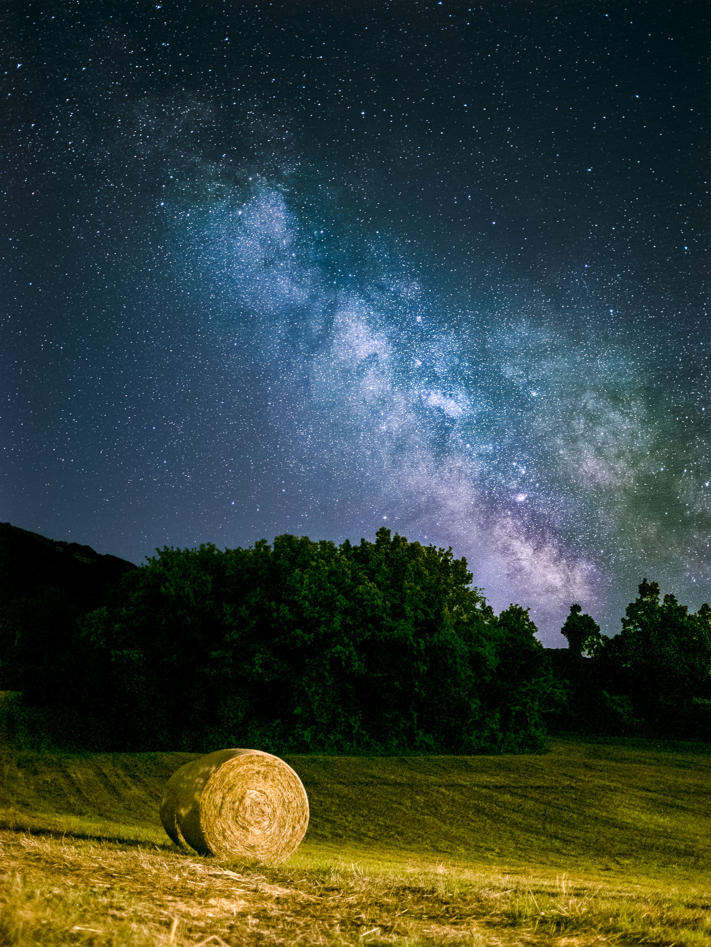 Try developing Milky Way...