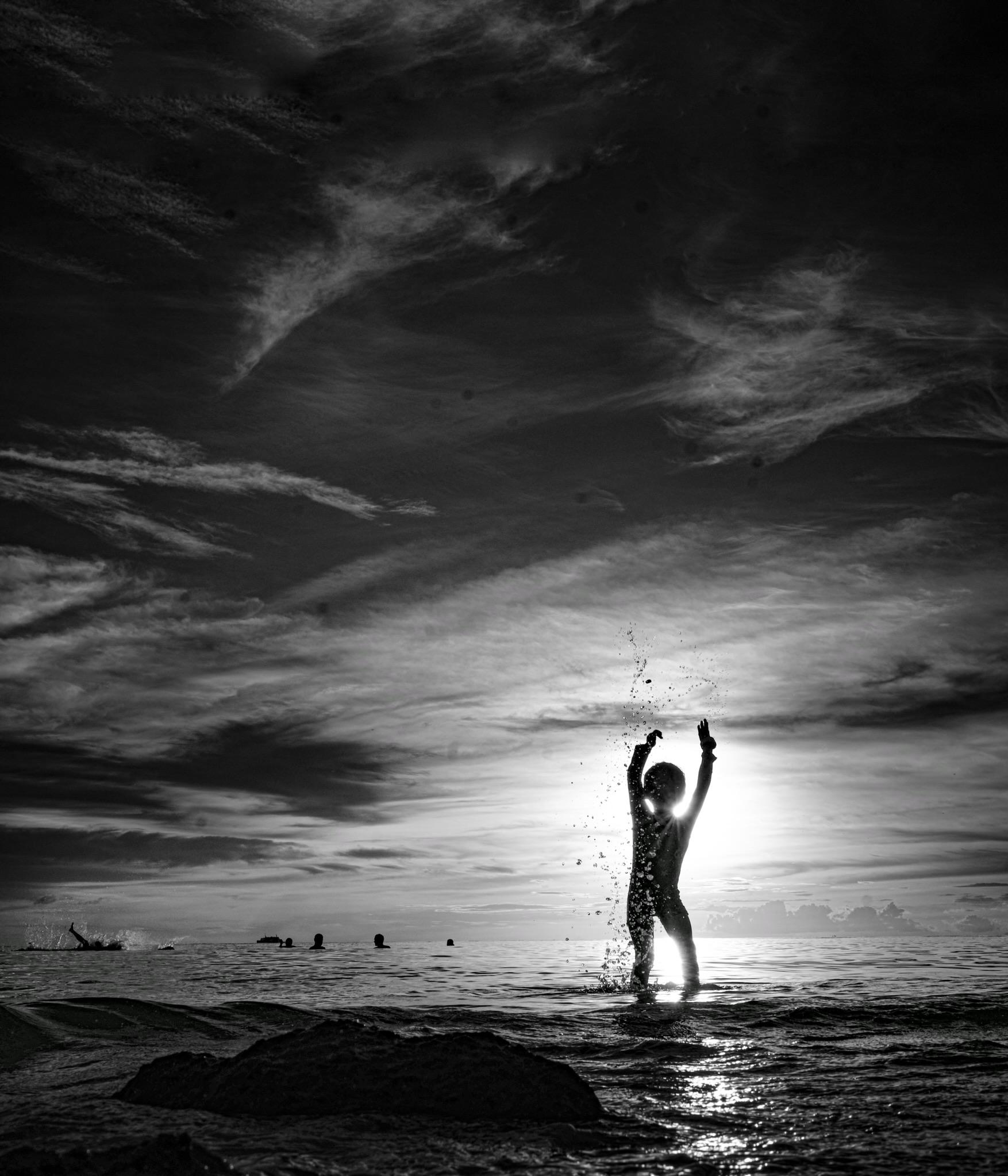 Prayer in the Sun...