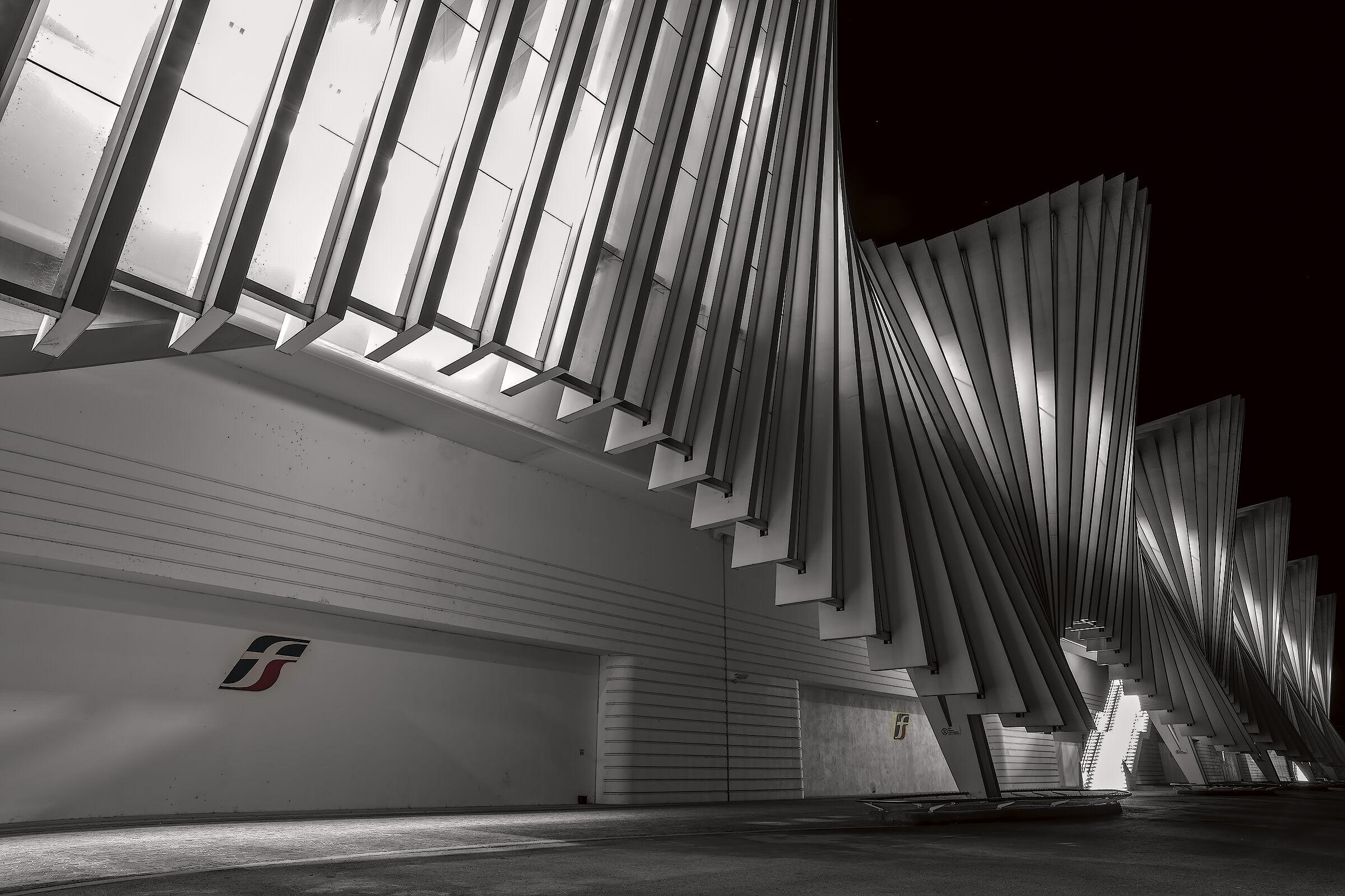Middle Padana railway station Calatrava...