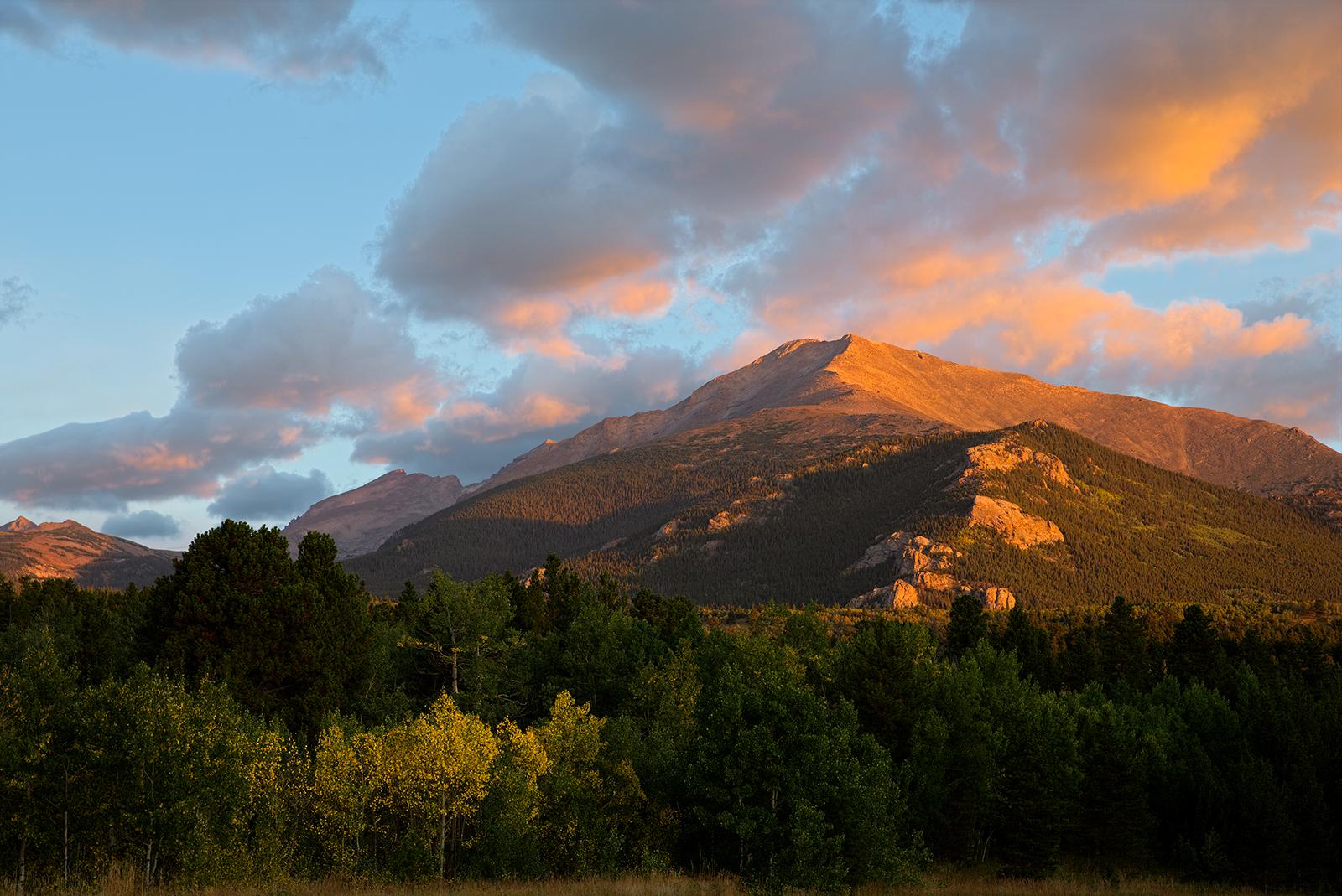 Mt Meeker - early Fall...
